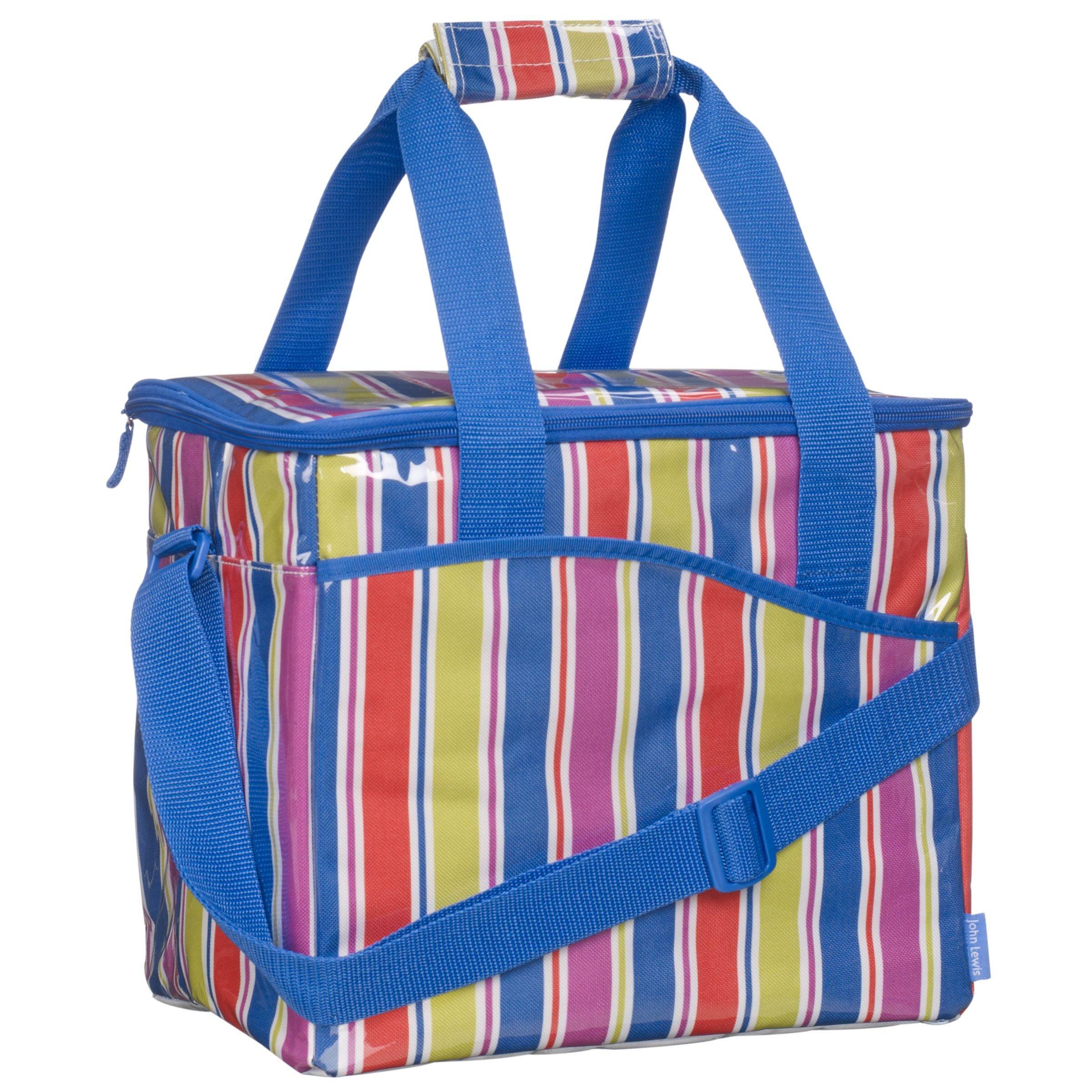 John Lewis Bright Stripe Family Coolbag