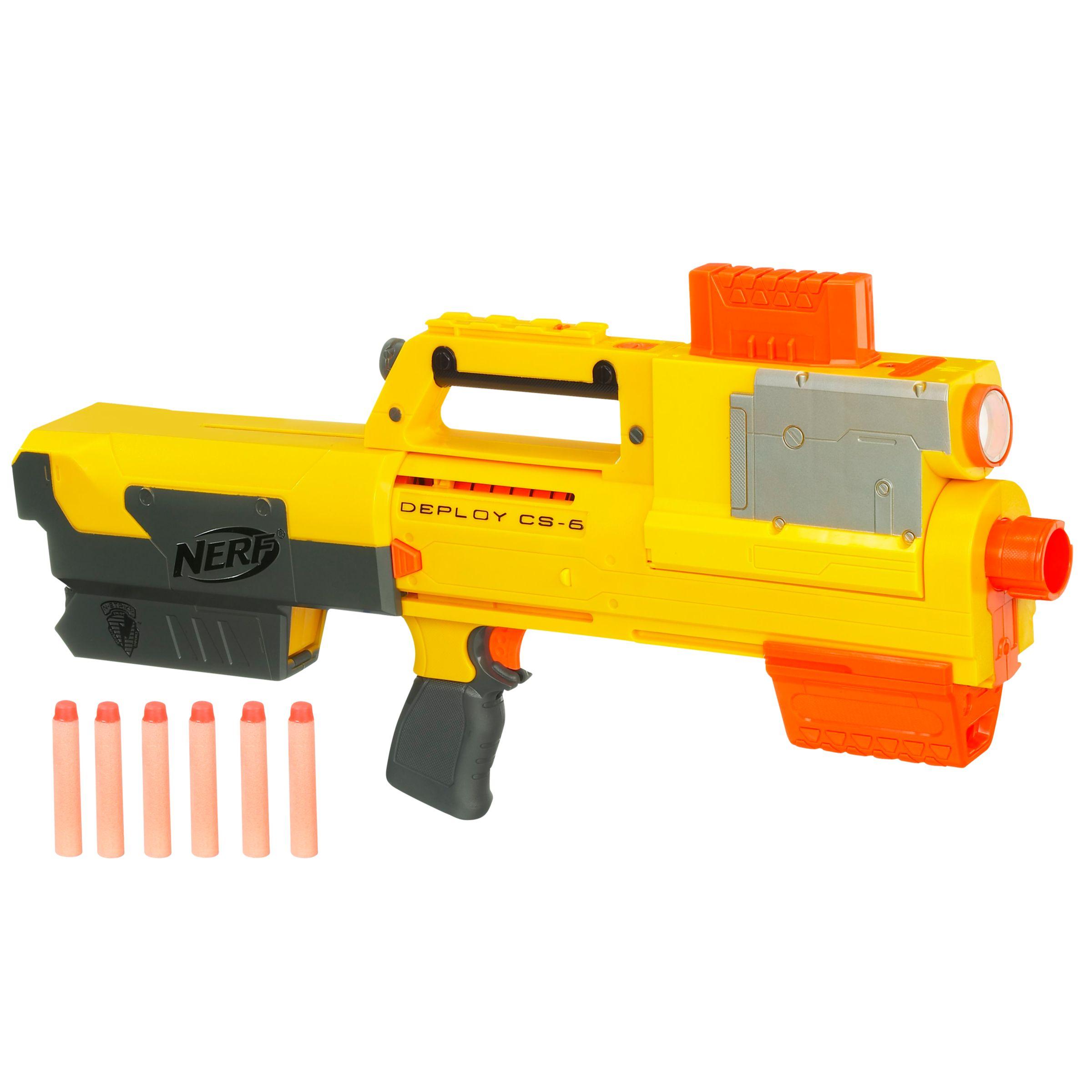 Hasbro Nerf N-Strike Deploy CS-6 Blaster