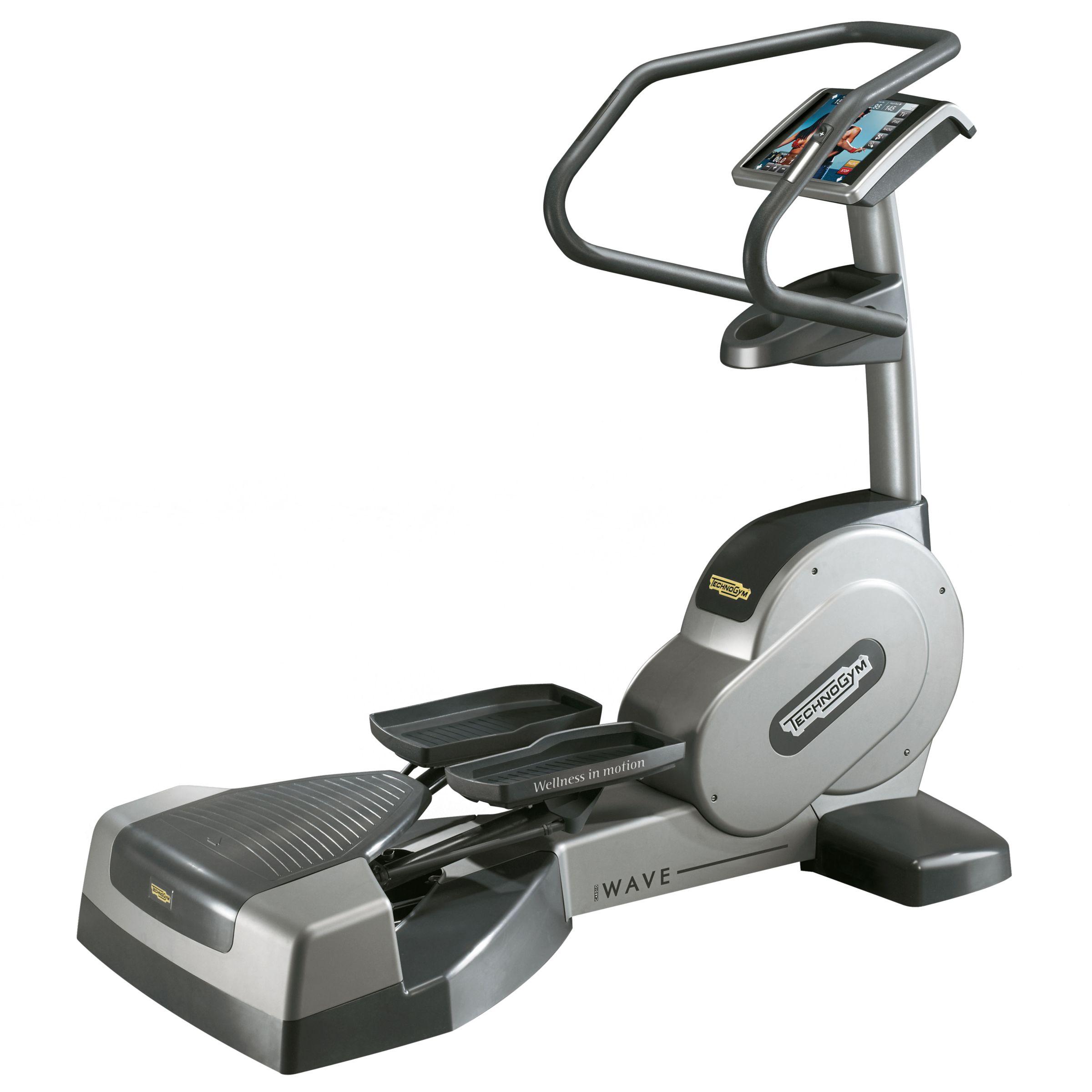 technogym crossover 700 visioweb elliptical trainer. Black Bedroom Furniture Sets. Home Design Ideas