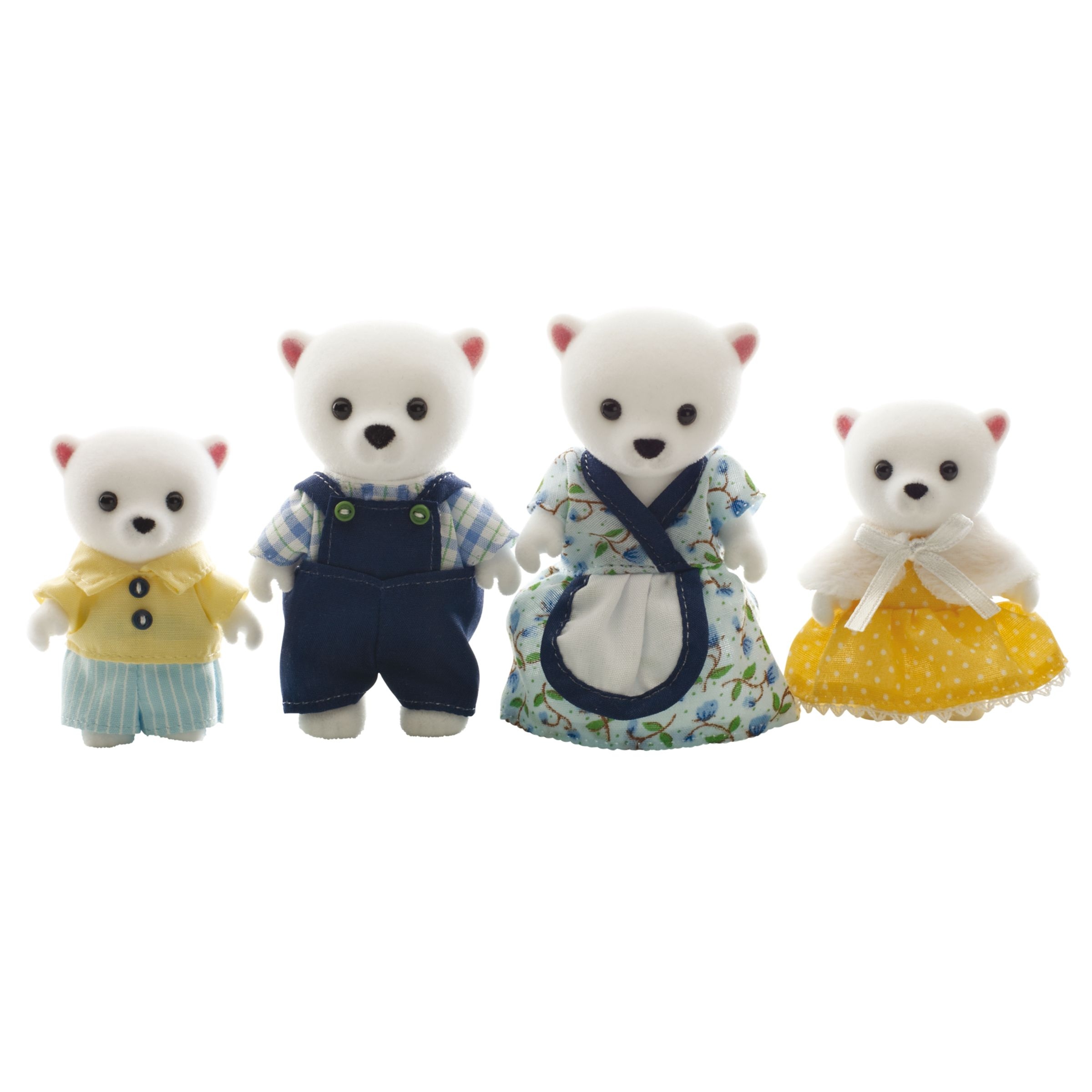Sylvanian Families Beaufort Polar Bear Family