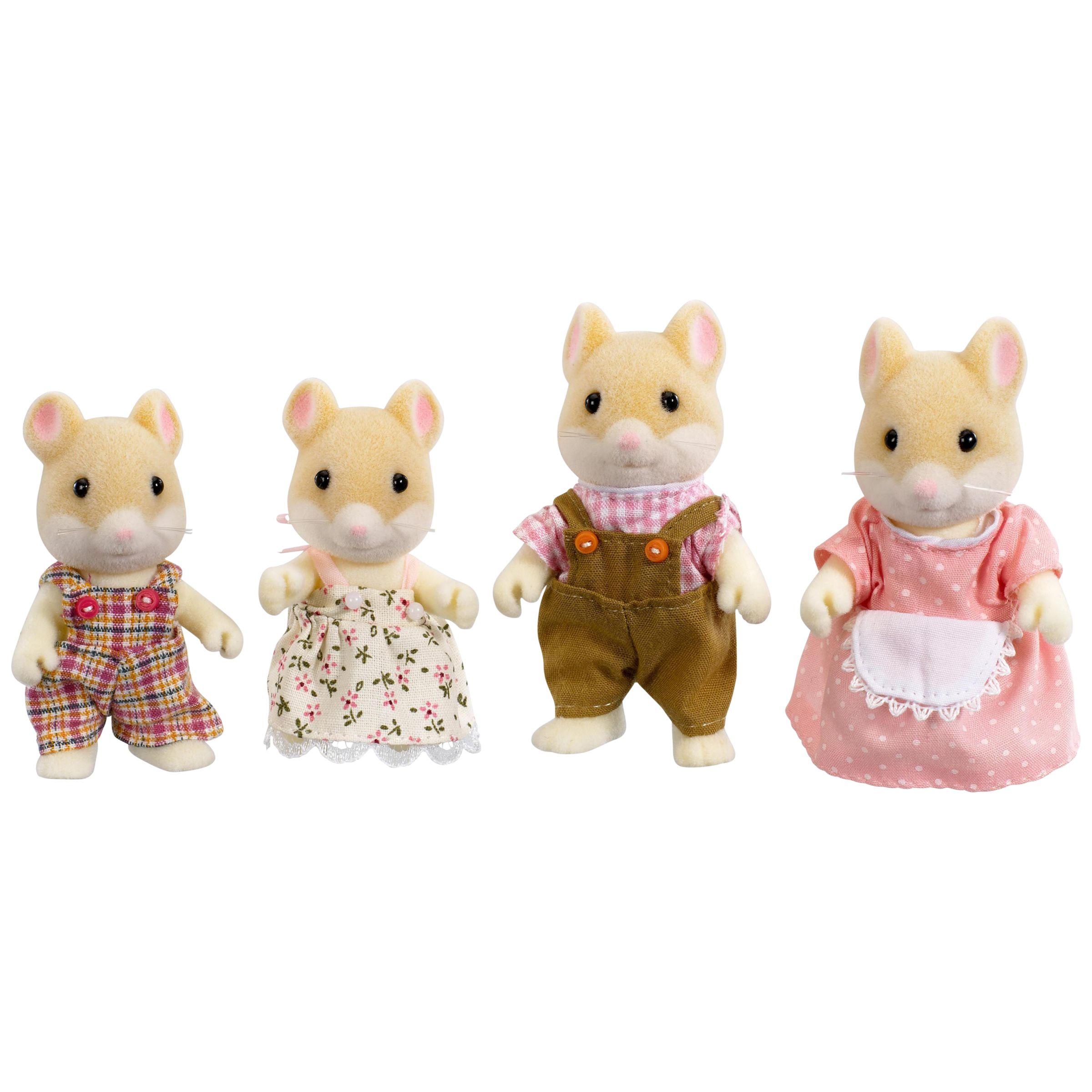 Sylvanian Families Hamilton Hamster Family