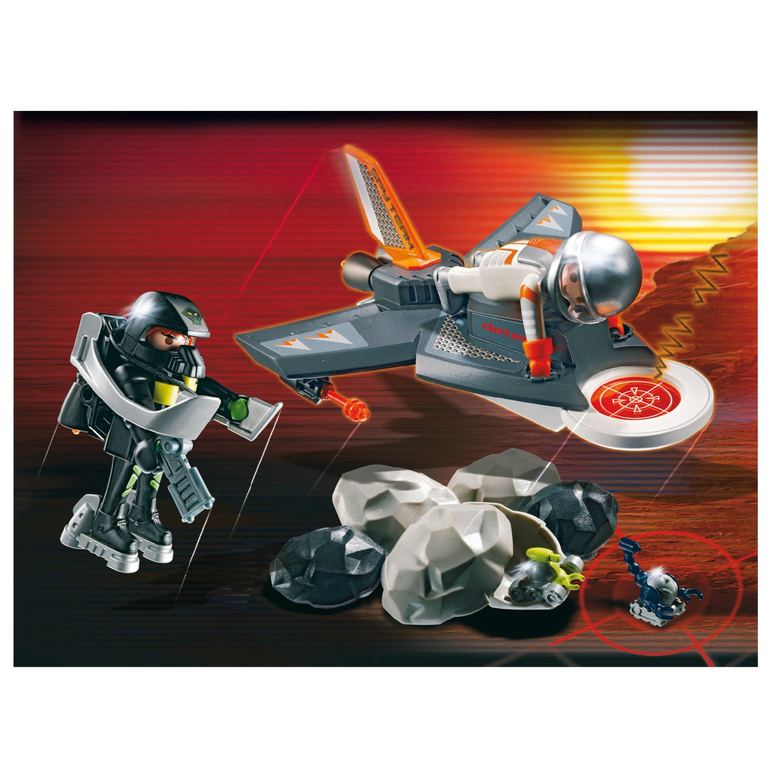 Playmobil Secret Agent Detector Jet