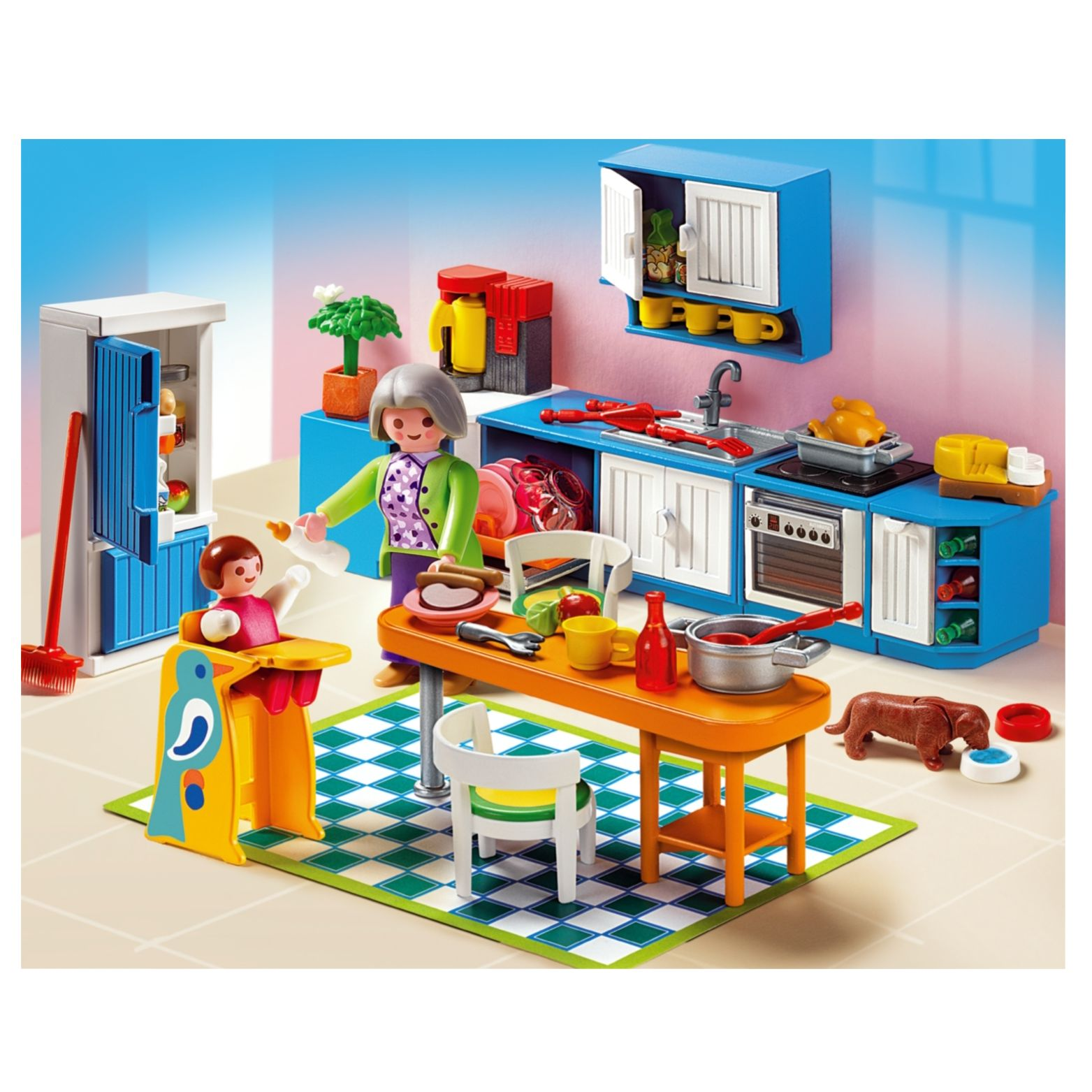 Playmobil Grande Maison Kitchen