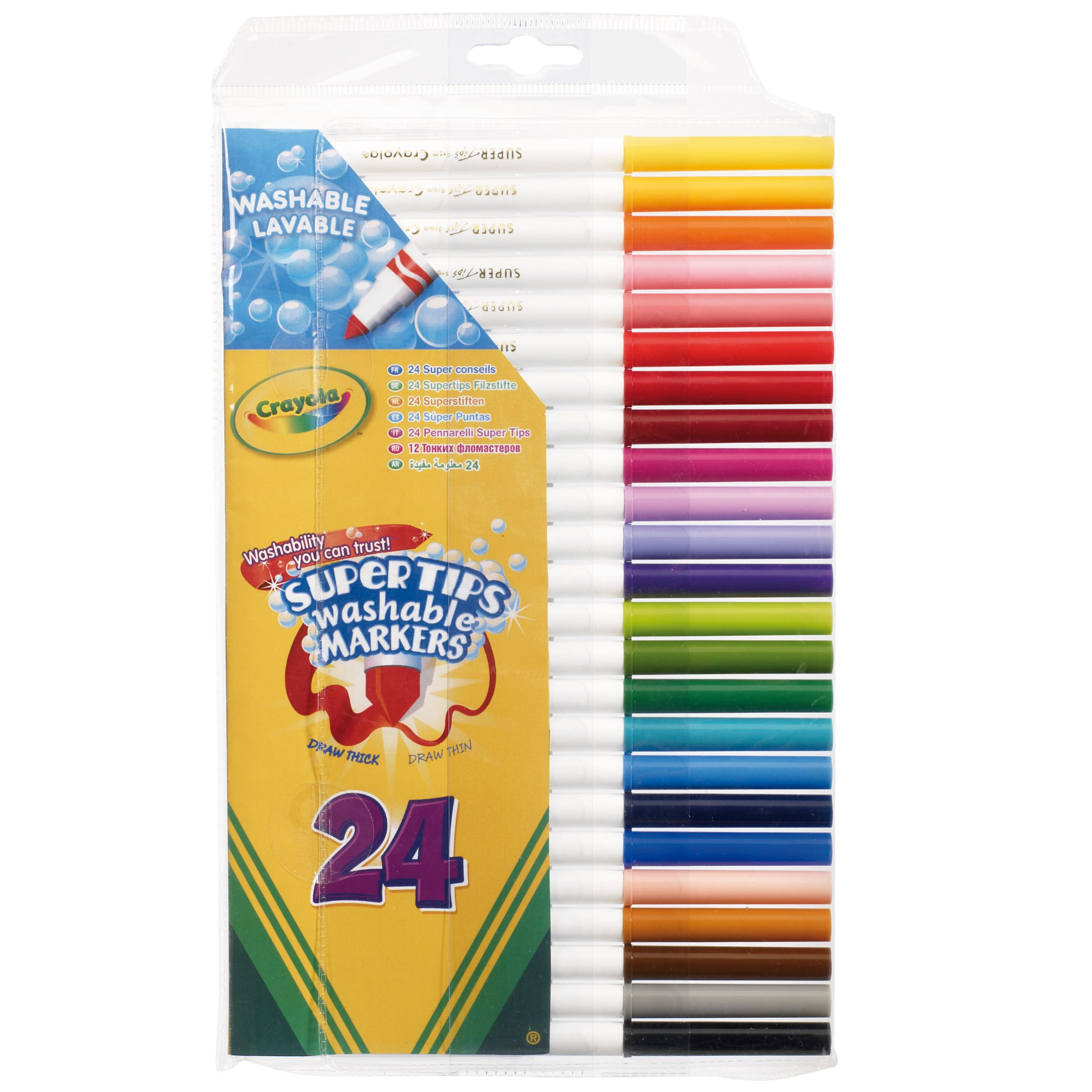 Crayola Supertips, Pack of 24