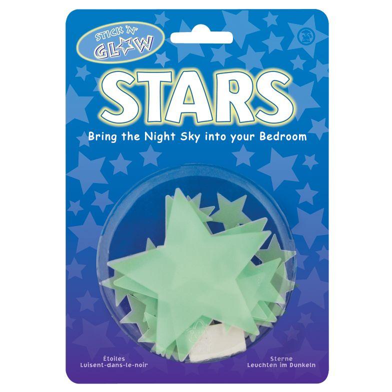 Stick 'n' Glow Stars