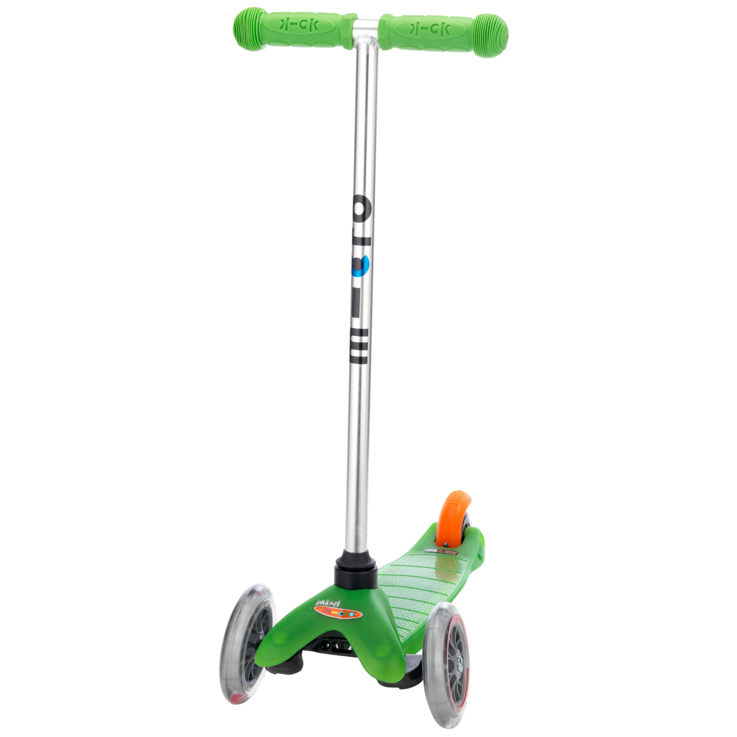 Mini Micro T-Bar Scooter, Green