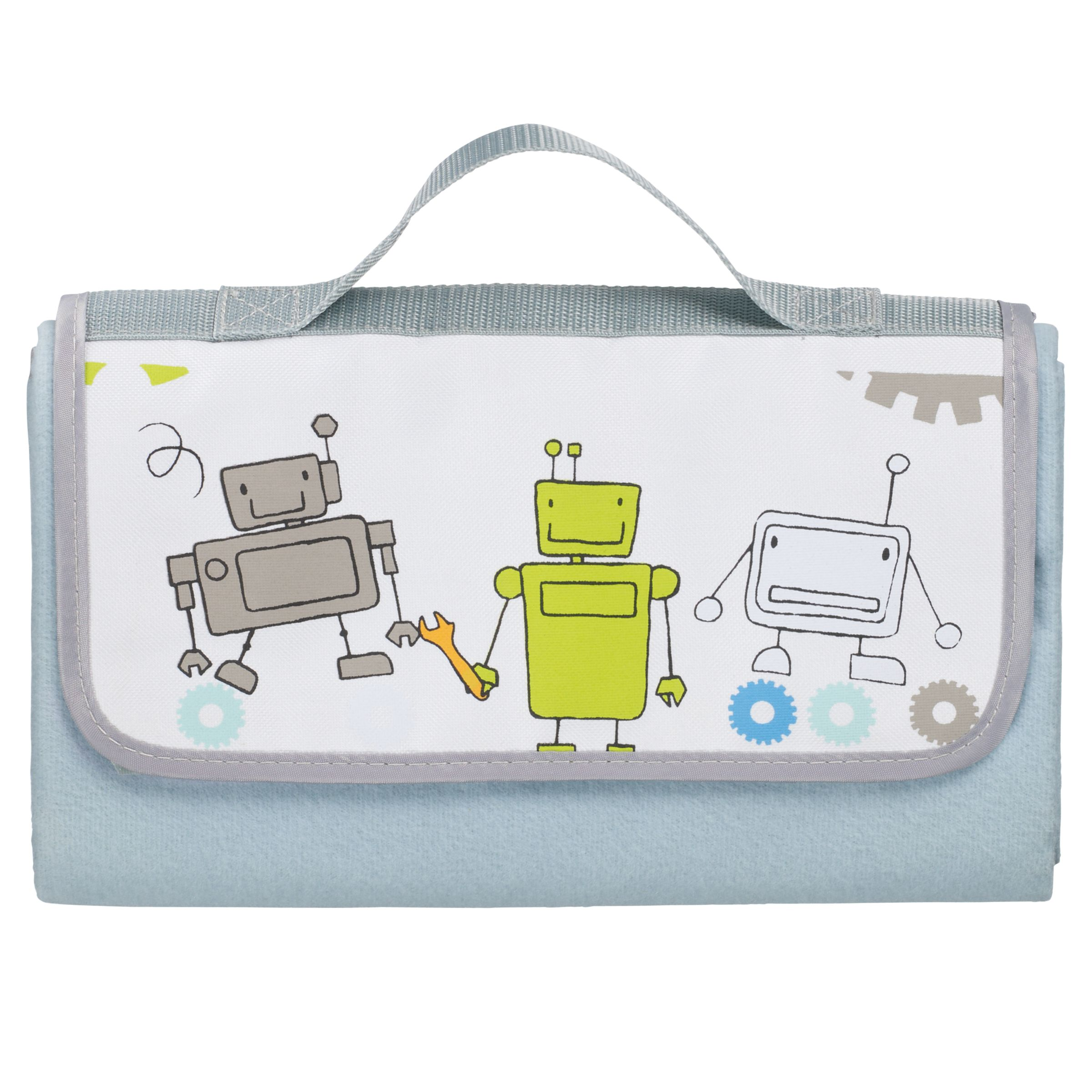 little home at John Lewis, Robots and Rivets Picnic Rug