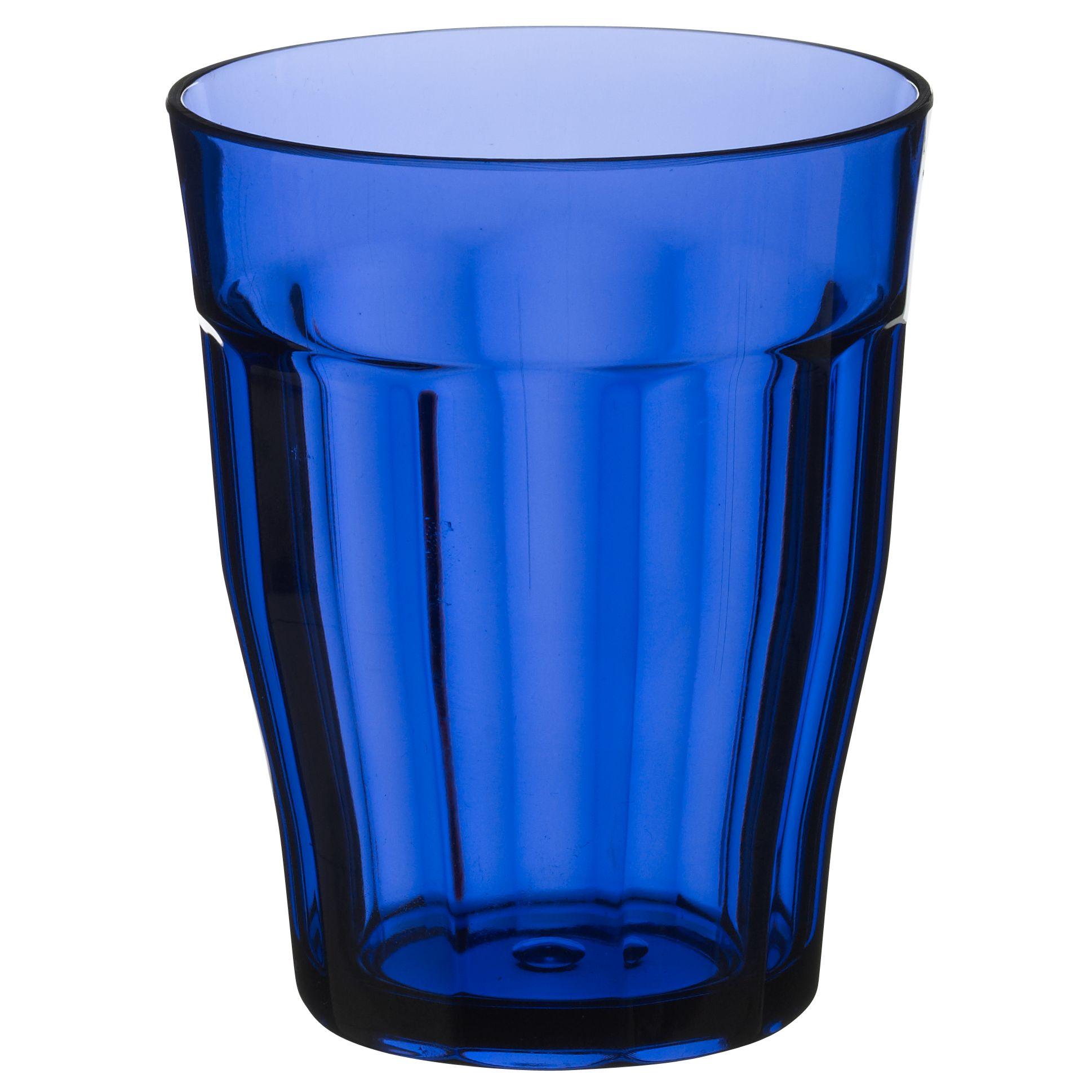 John Lewis Blue Acrylic Tumbler