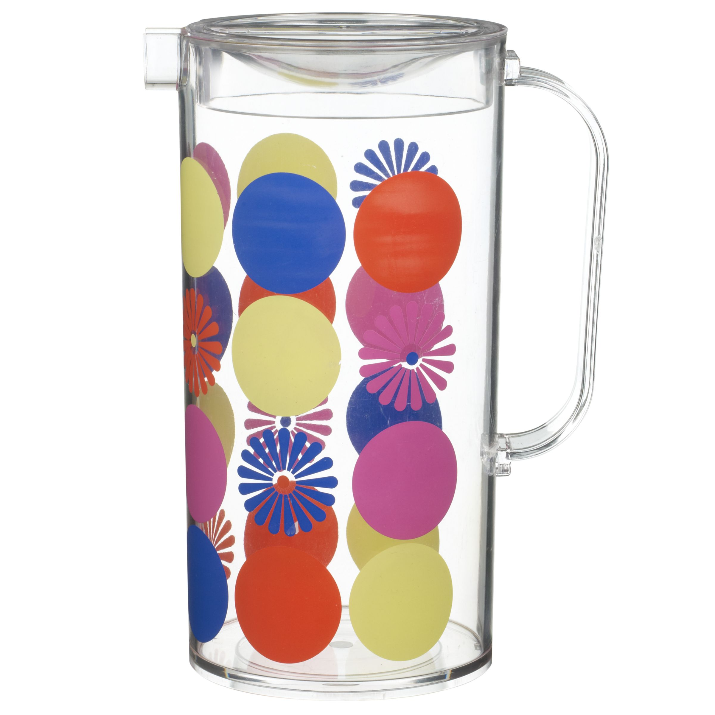 John Lewis Summer Dot Floral Pitcher