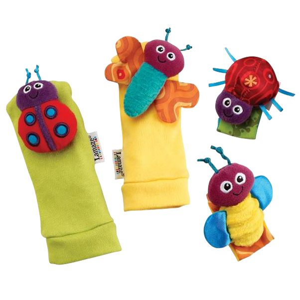 Lamaze Garden Bug Foot Finder Set
