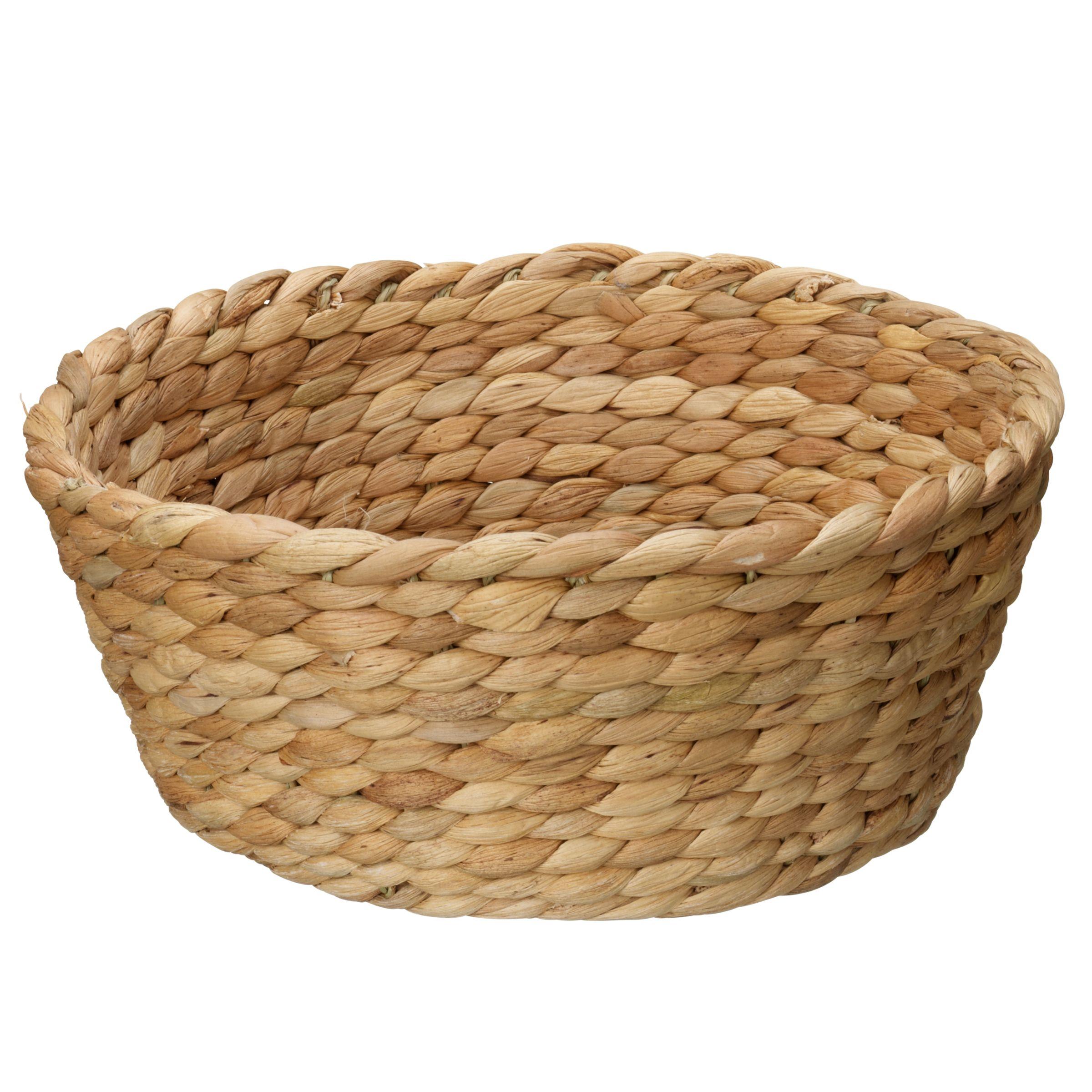 John Lewis Water Hyacinth Bread Basket
