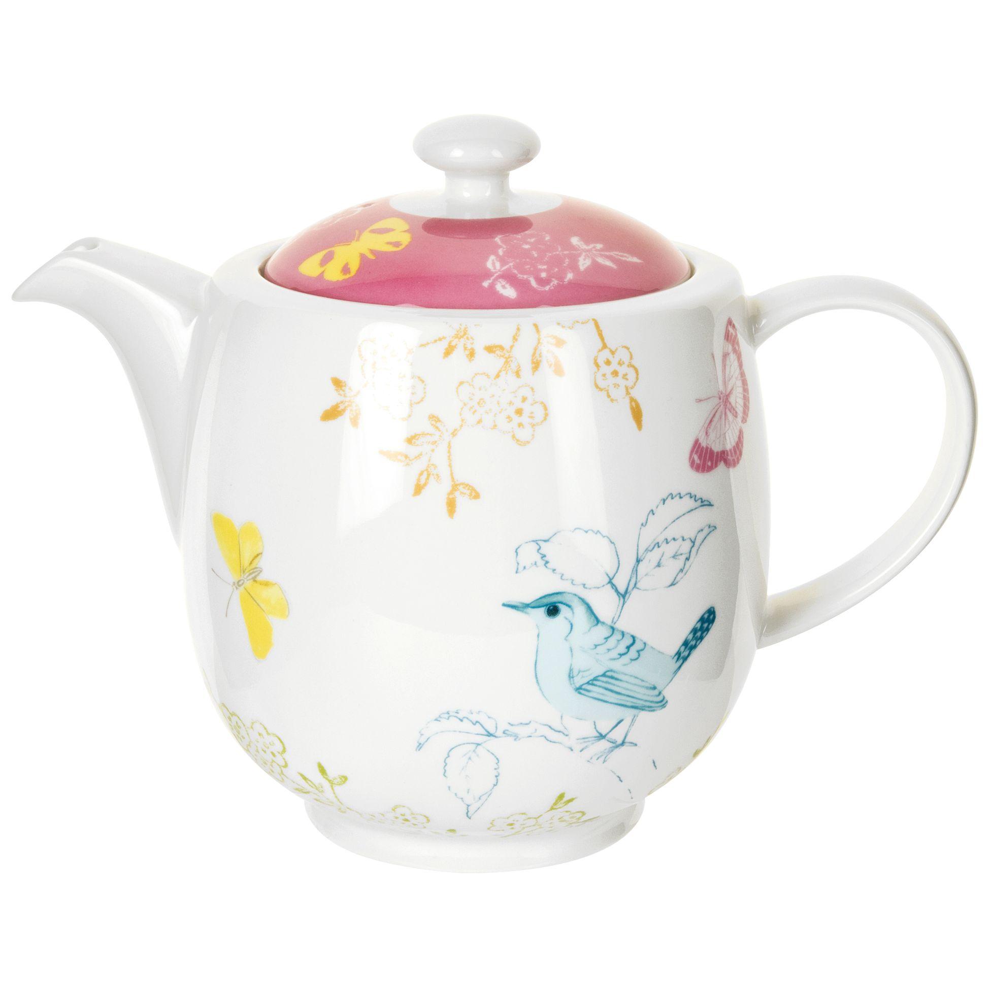 Portmeirion Dawn Chorus Teapot, 1.35L