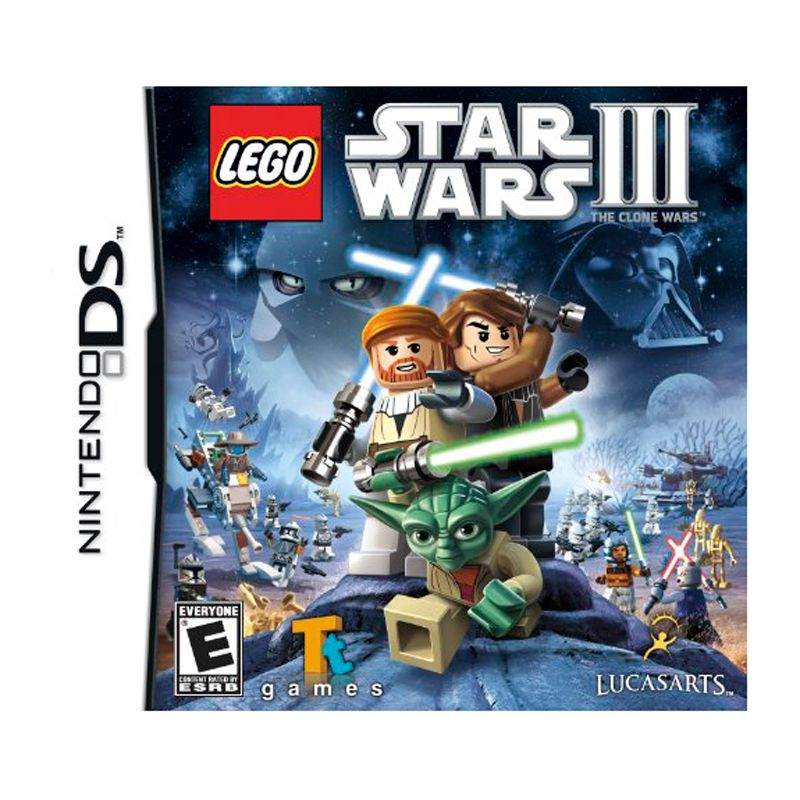 Star Wars Games For Ds. Lego Star Wars 3 The