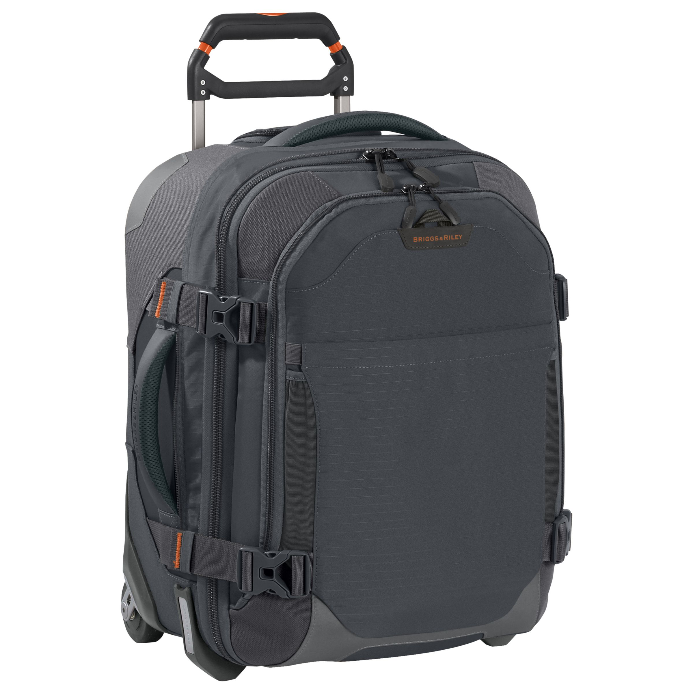 "Briggs & Riley BRX Explore 20"" Wide-Body Suitcase, Slate"