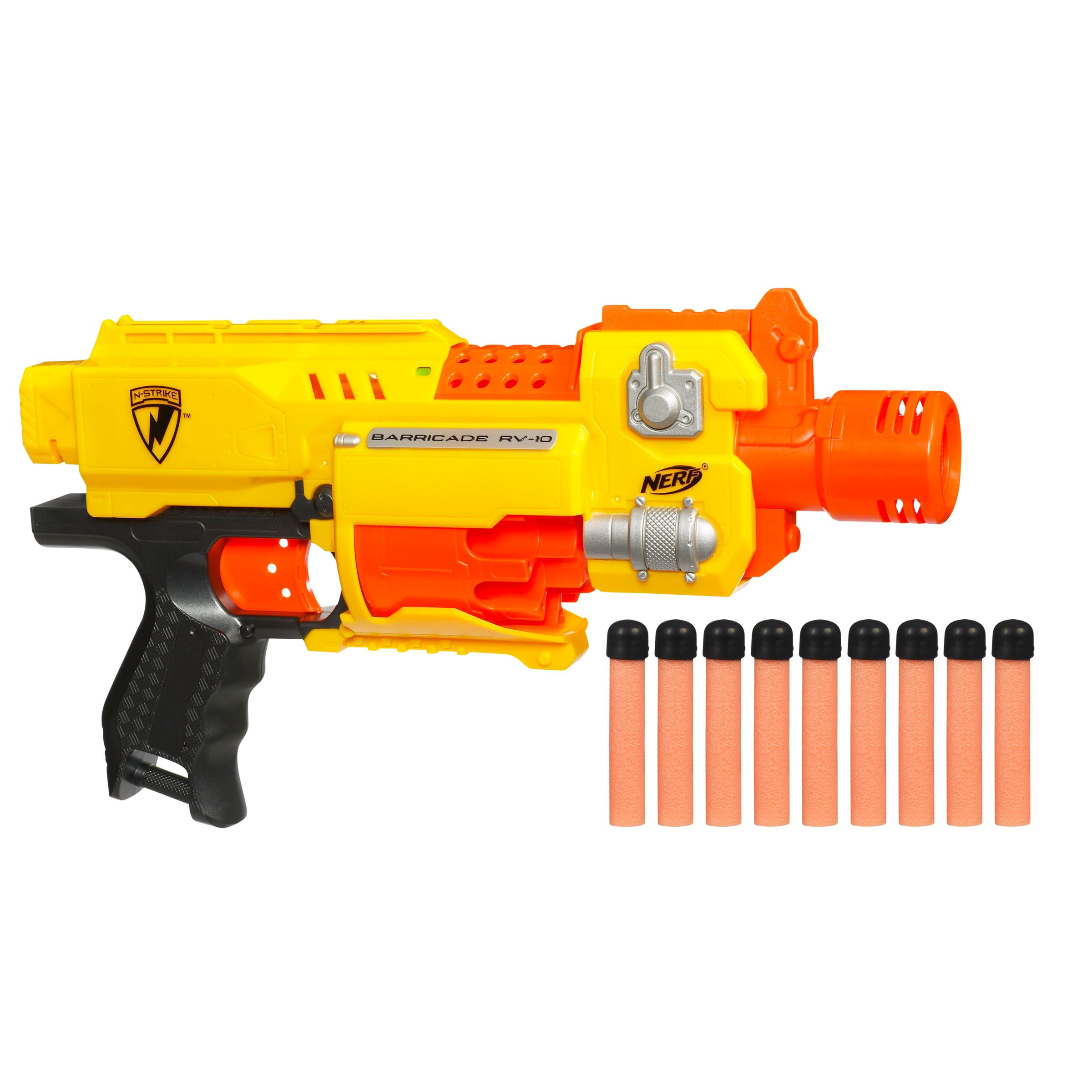 Hasbro Nerf N-Strike Barricade RV-10 Blaster