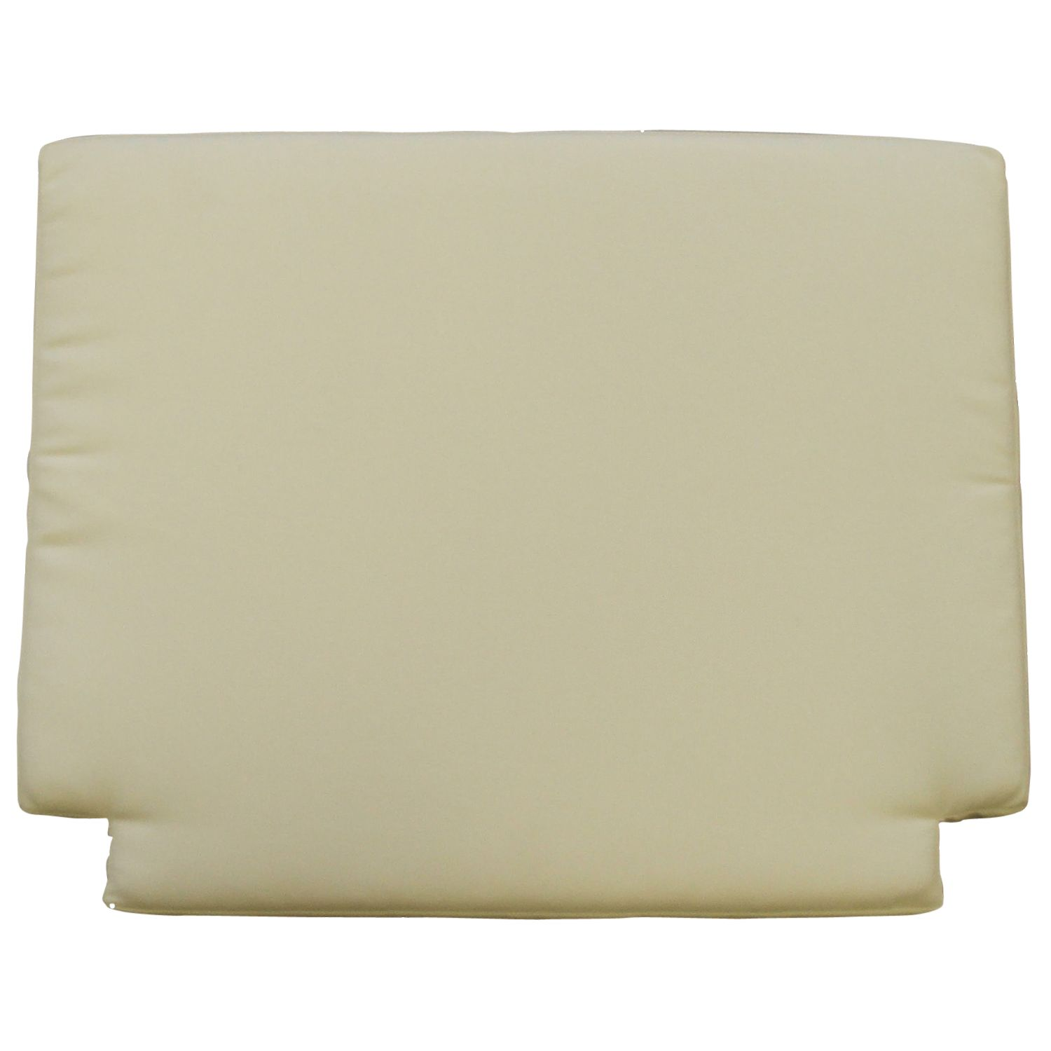 Barlow Tyrie Dining Chair Seat Cushion, White Sand