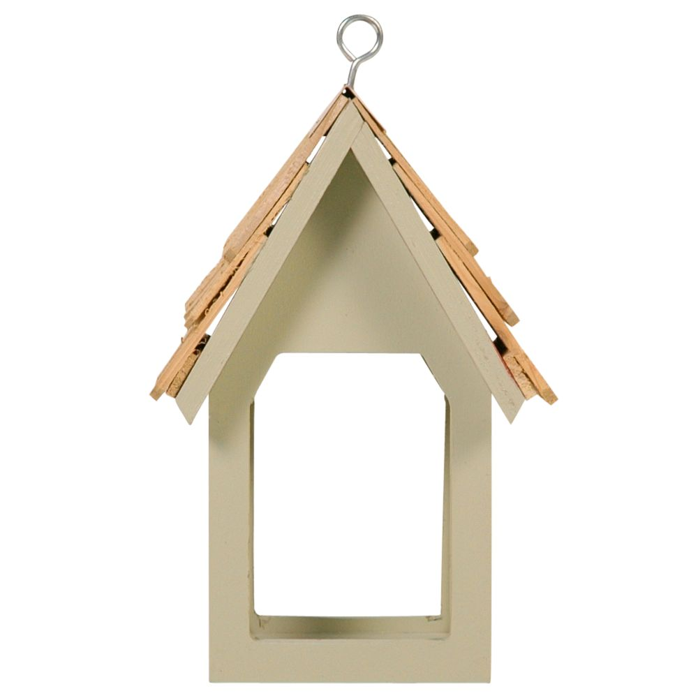 Sparrow & Finch Harry's Bar Bird Feeder, French Grey