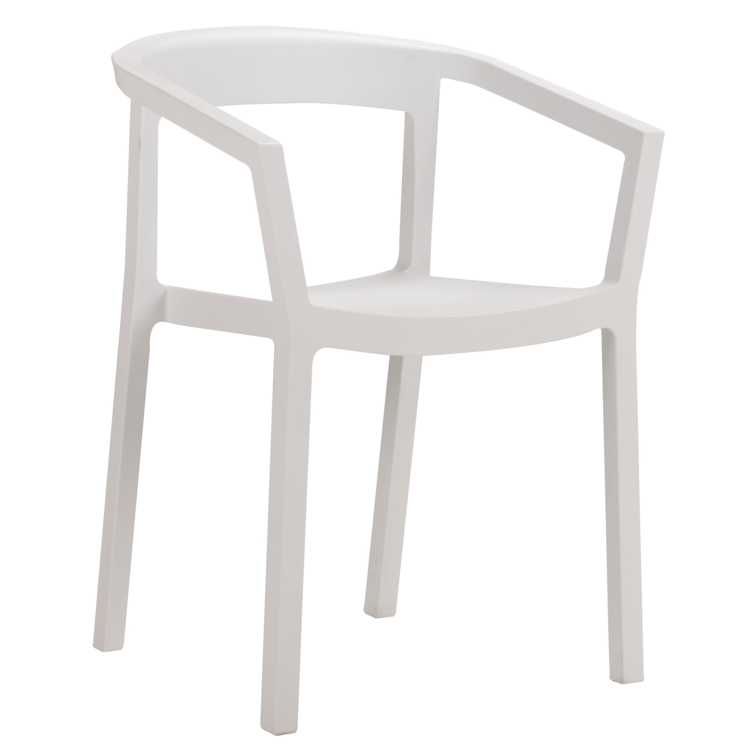 Resol Peach Chair, White