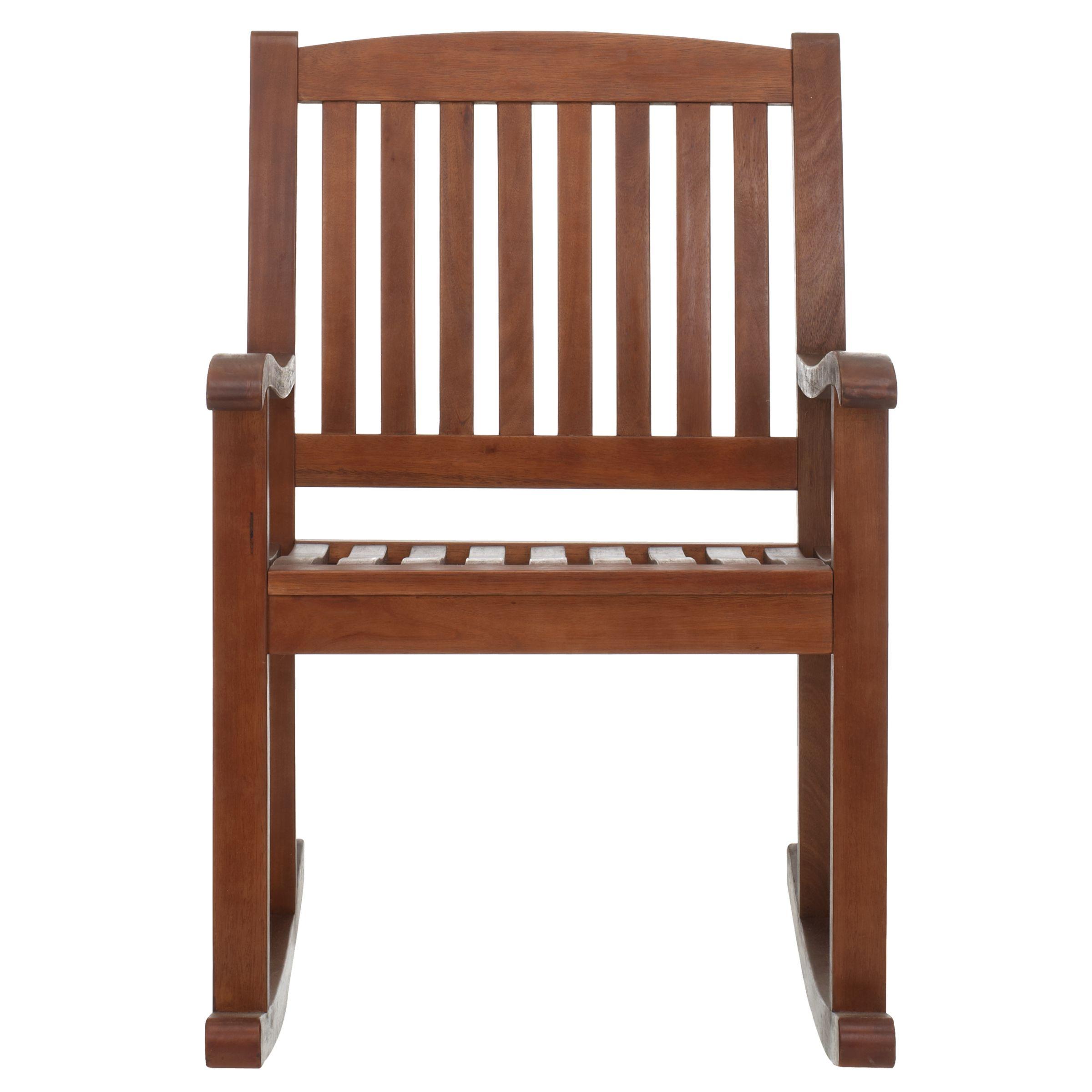 John Lewis Eucalyptus Outdoor Rocking Chair