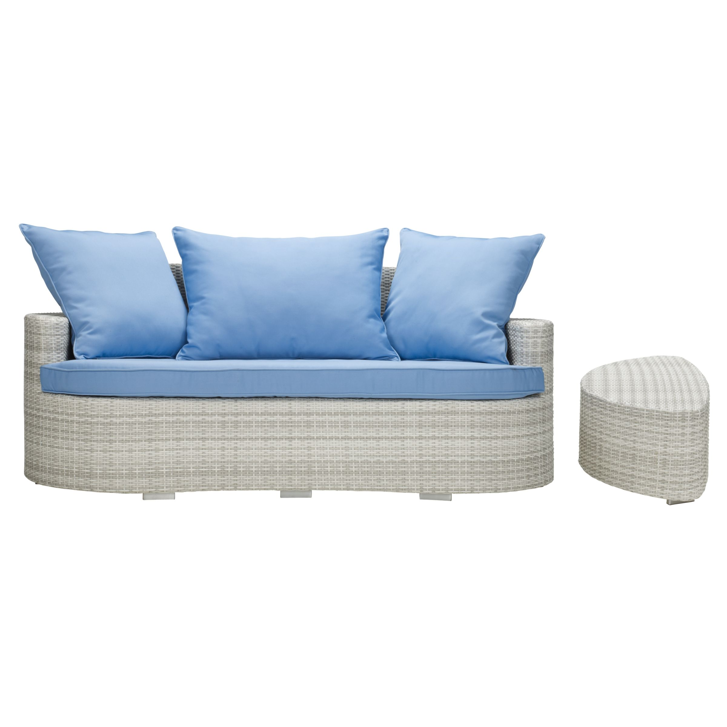 John Lewis St. Tropez Outdoor Sofa and Table
