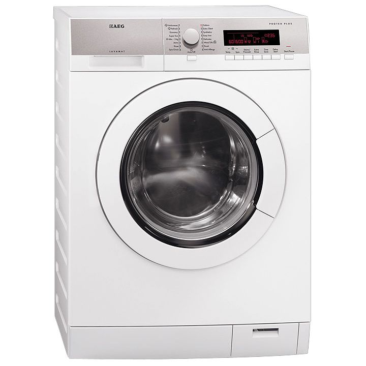 AEG L87680FL Washing Machine, White