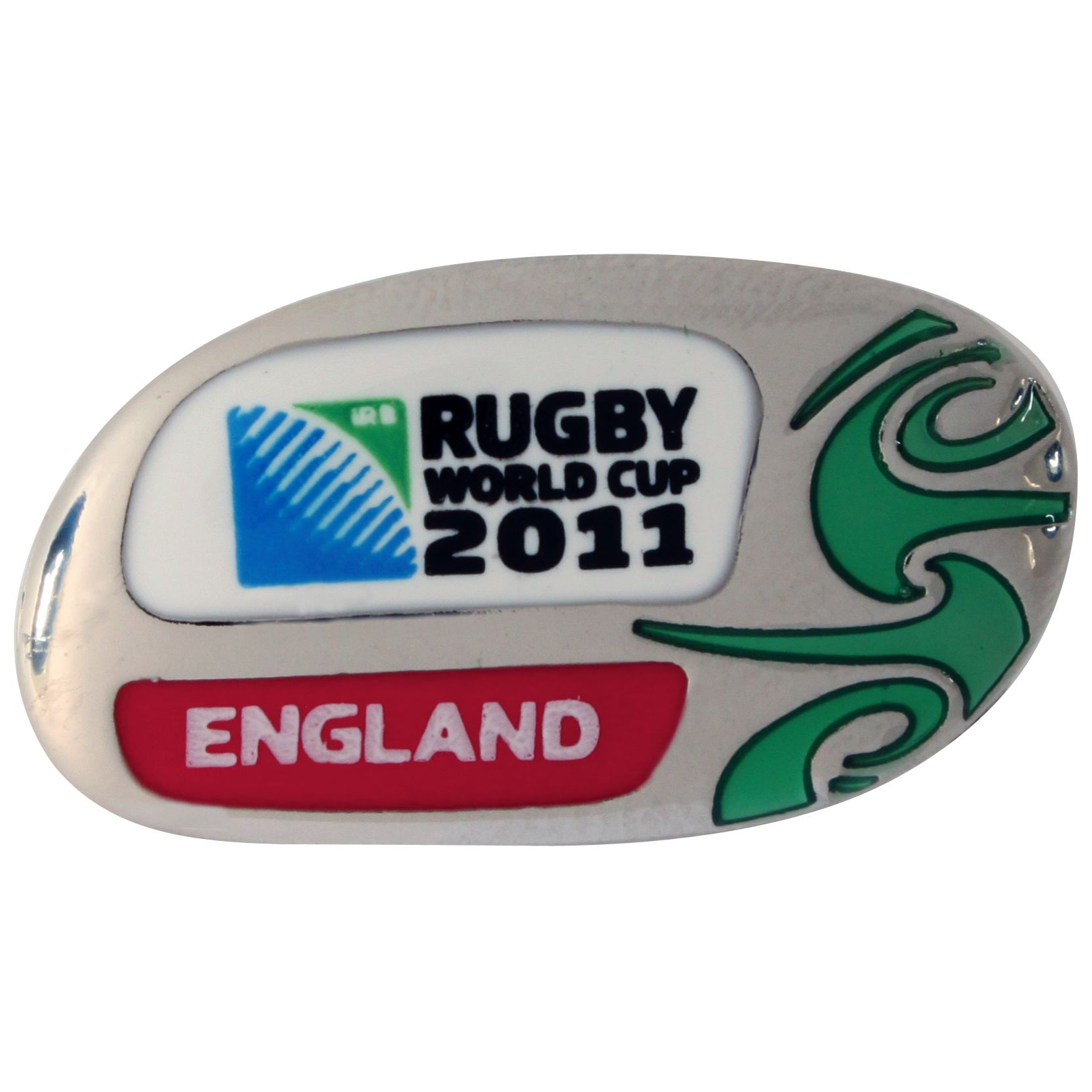 Rugby World Cup Country Collection England Pin Badge