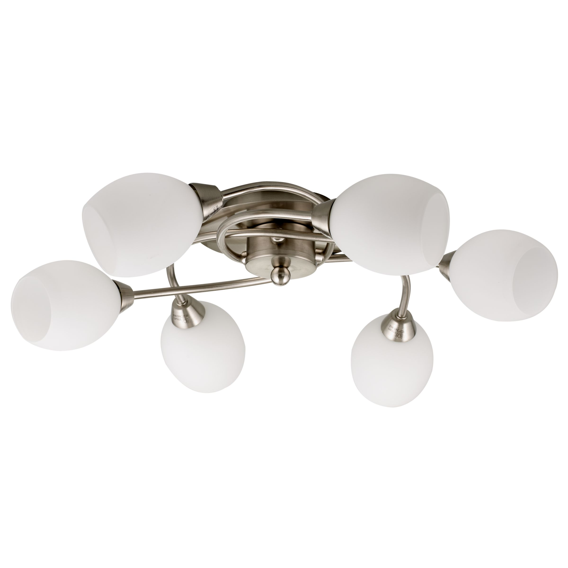 John Lewis Twist Semi Flush Ceiling Light
