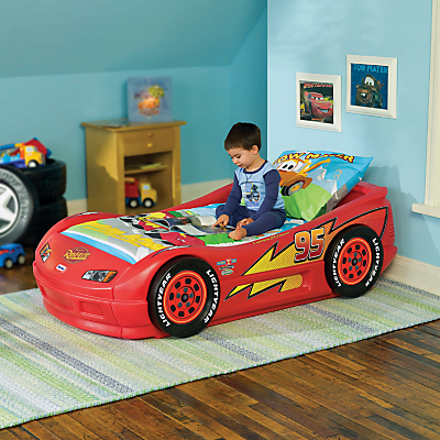 Lightning Mcqueen   on Buy Little Tikes Lightning Mcqueen Cars Bed Online At Johnlewis Com