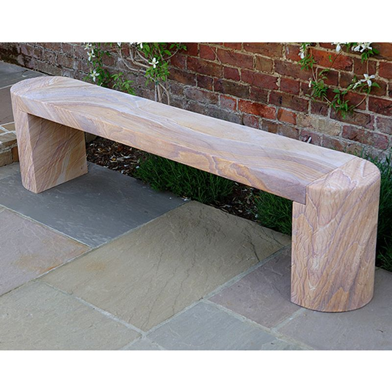 Foras Sky 180 Straight Outdoor Bench