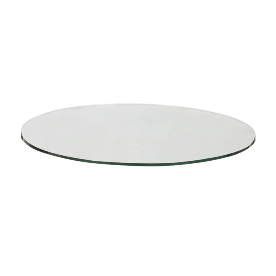 Gloster Casablanca Round Outdoor Side Table Glass Top