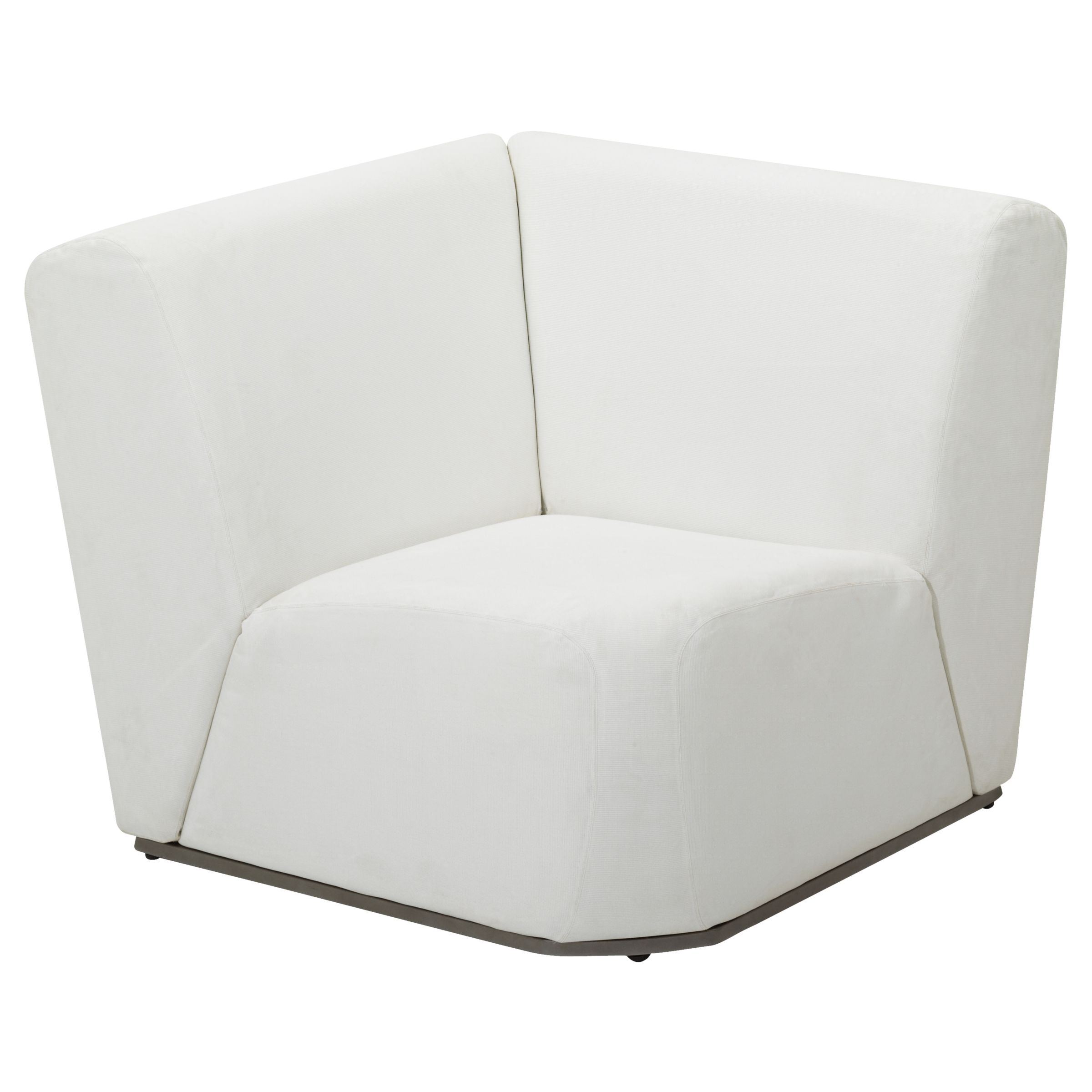 Gloster Club Outdoor Corner Unit, Ivory