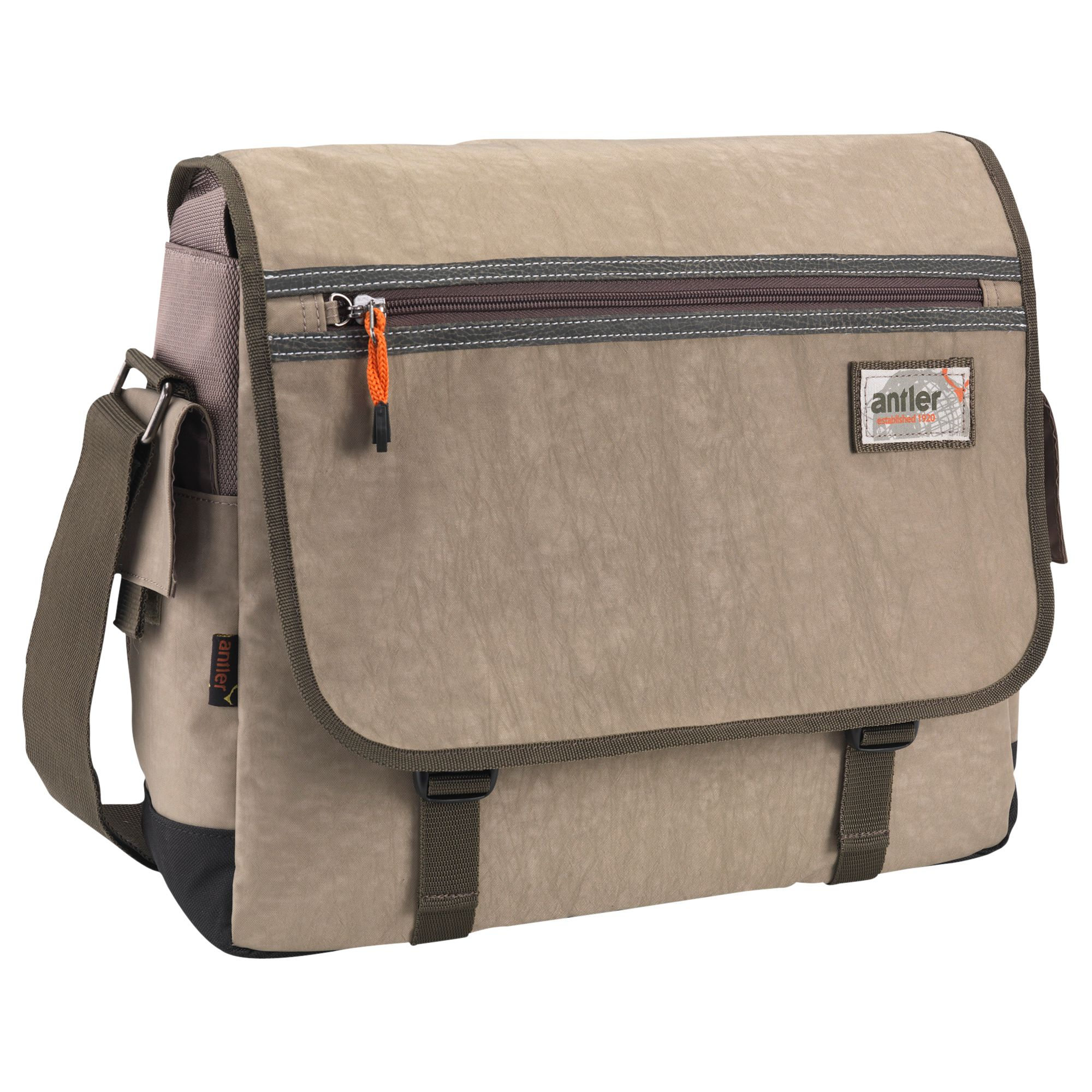 Antler Urbanite II Messenger Bag, Stone