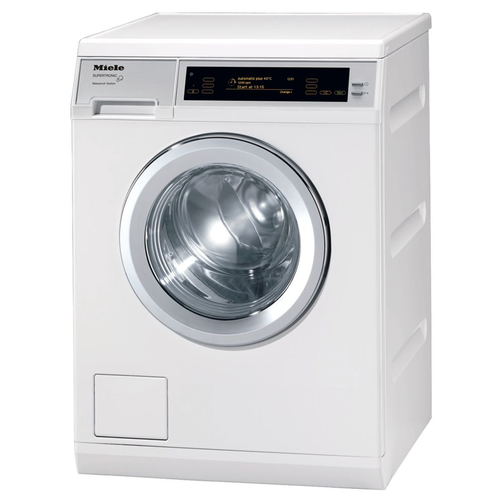 Miele W5000 Supertronic Washing Machine, 8kg Load, A+++ Energy Rating, 1600rpm Spin, White