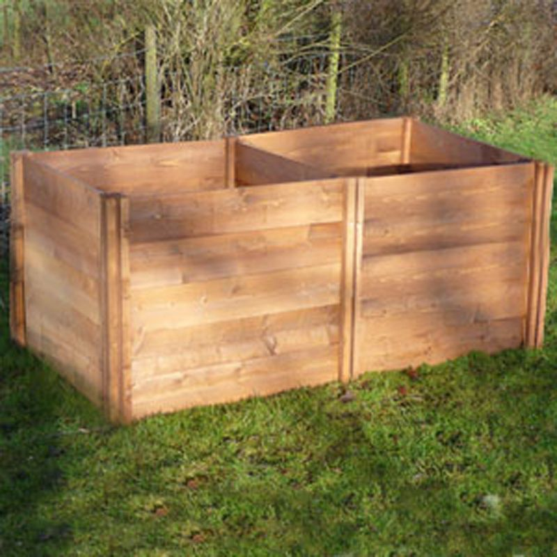 The Big Square Wooden Compost Bin Additional Module