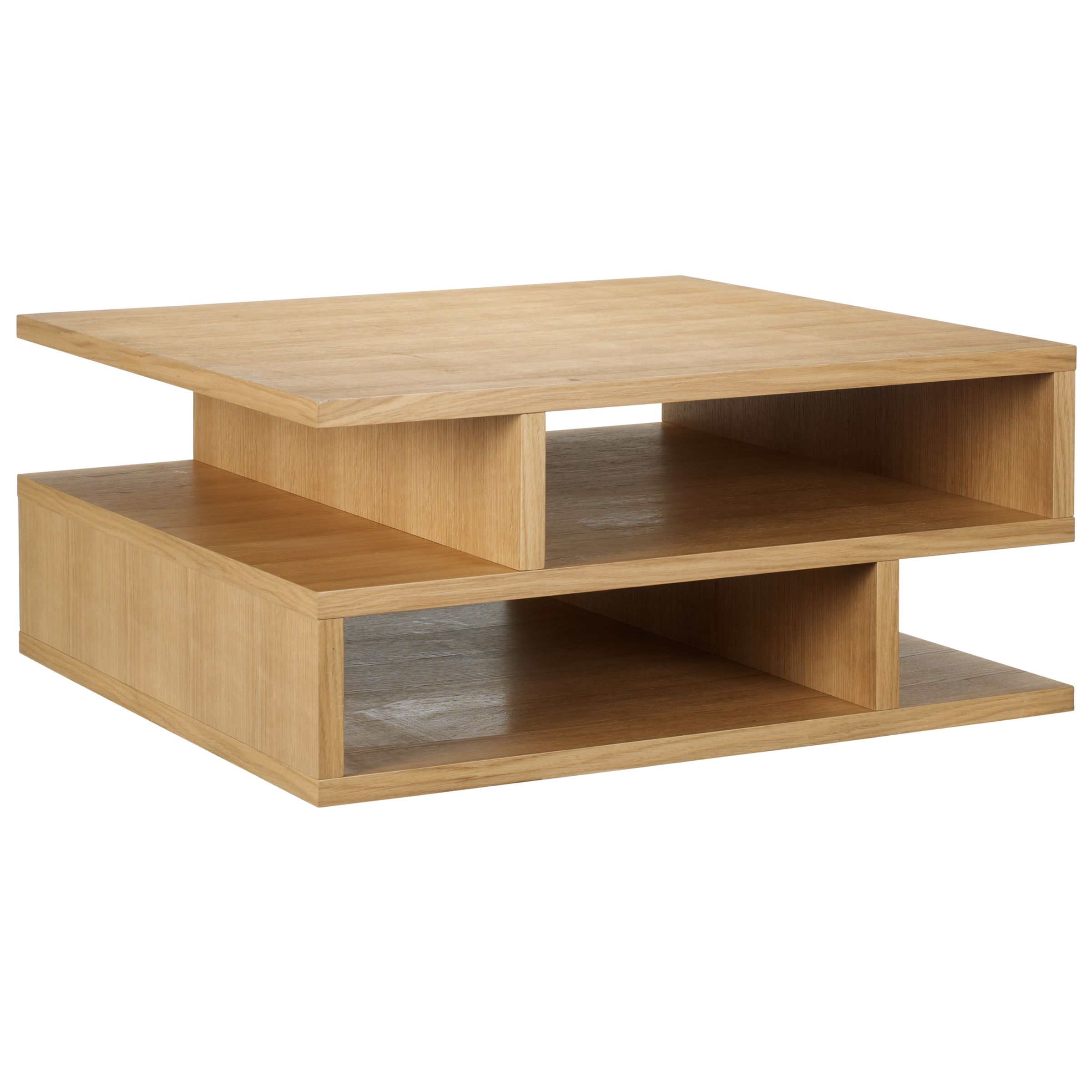 Oak Square Coffee Table Furniture