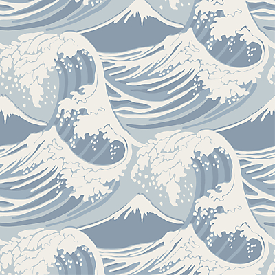 Wallpaperbathroom on Buy Cole   Son Great Wave Wallpaper  89 2007 Online At Johnlewis Com