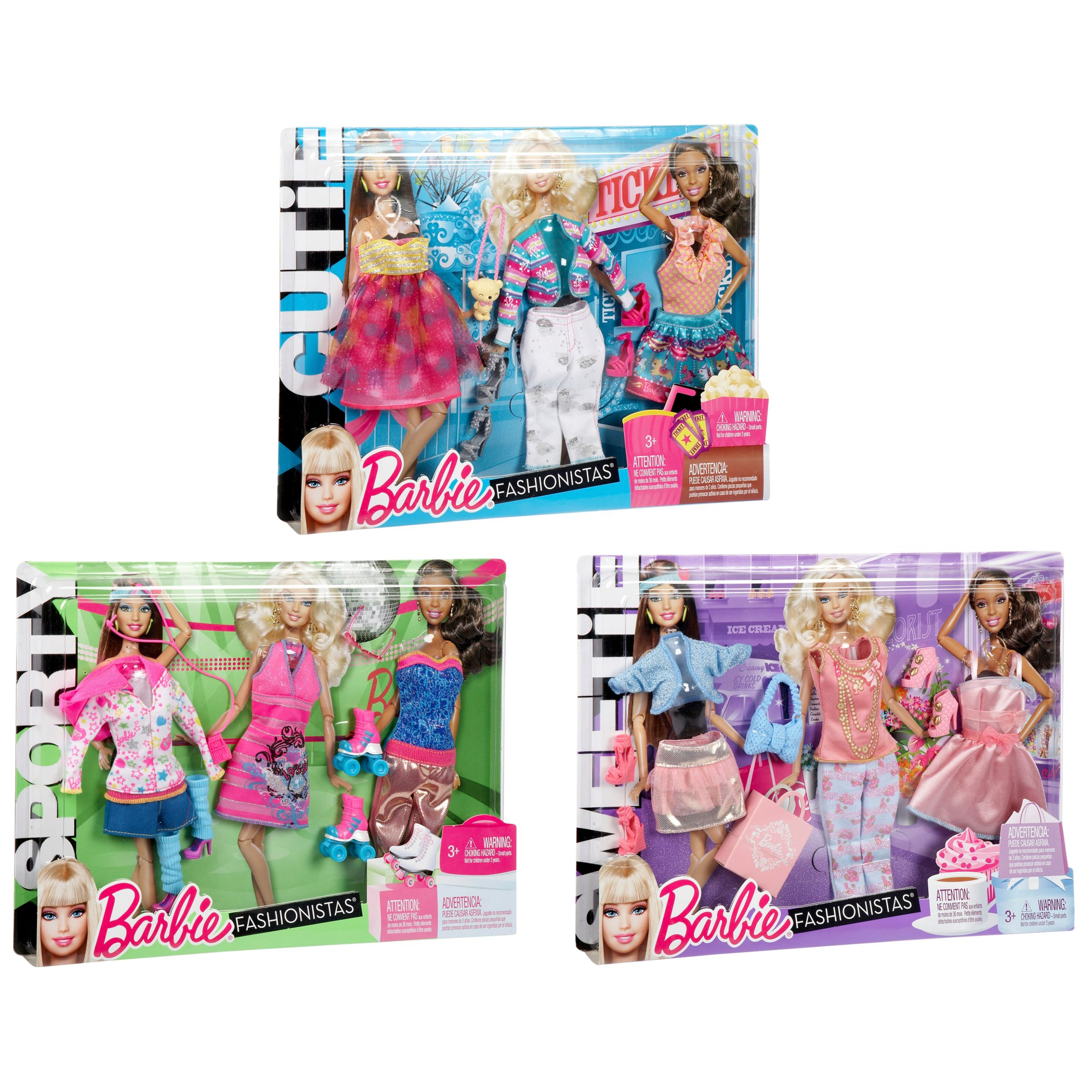 Barbie Fab Life Day Looks Fashion, Assorted