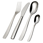 Alessi KnifeForkSpoon Cutlery Set, 24 Piece