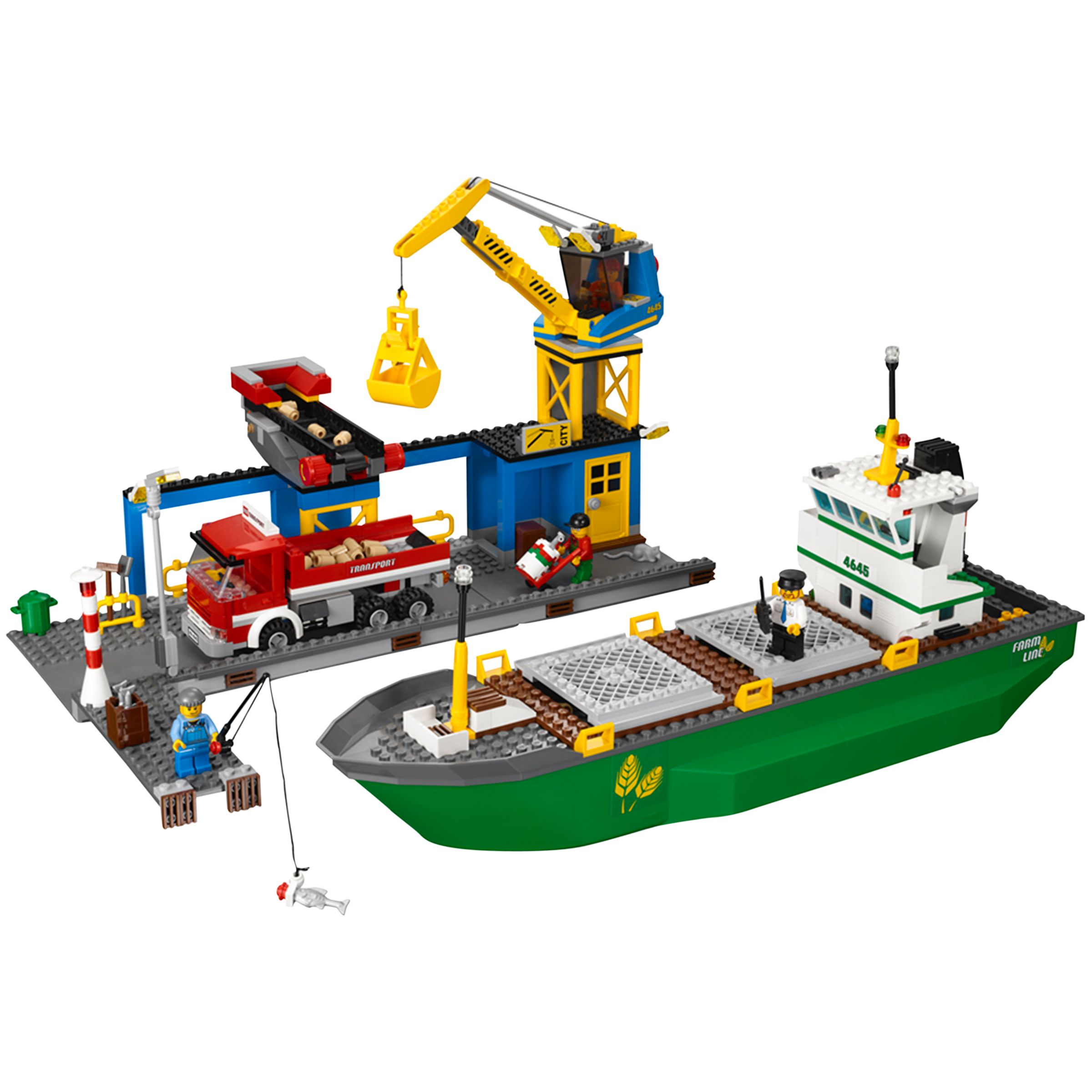 Lego City Harbour