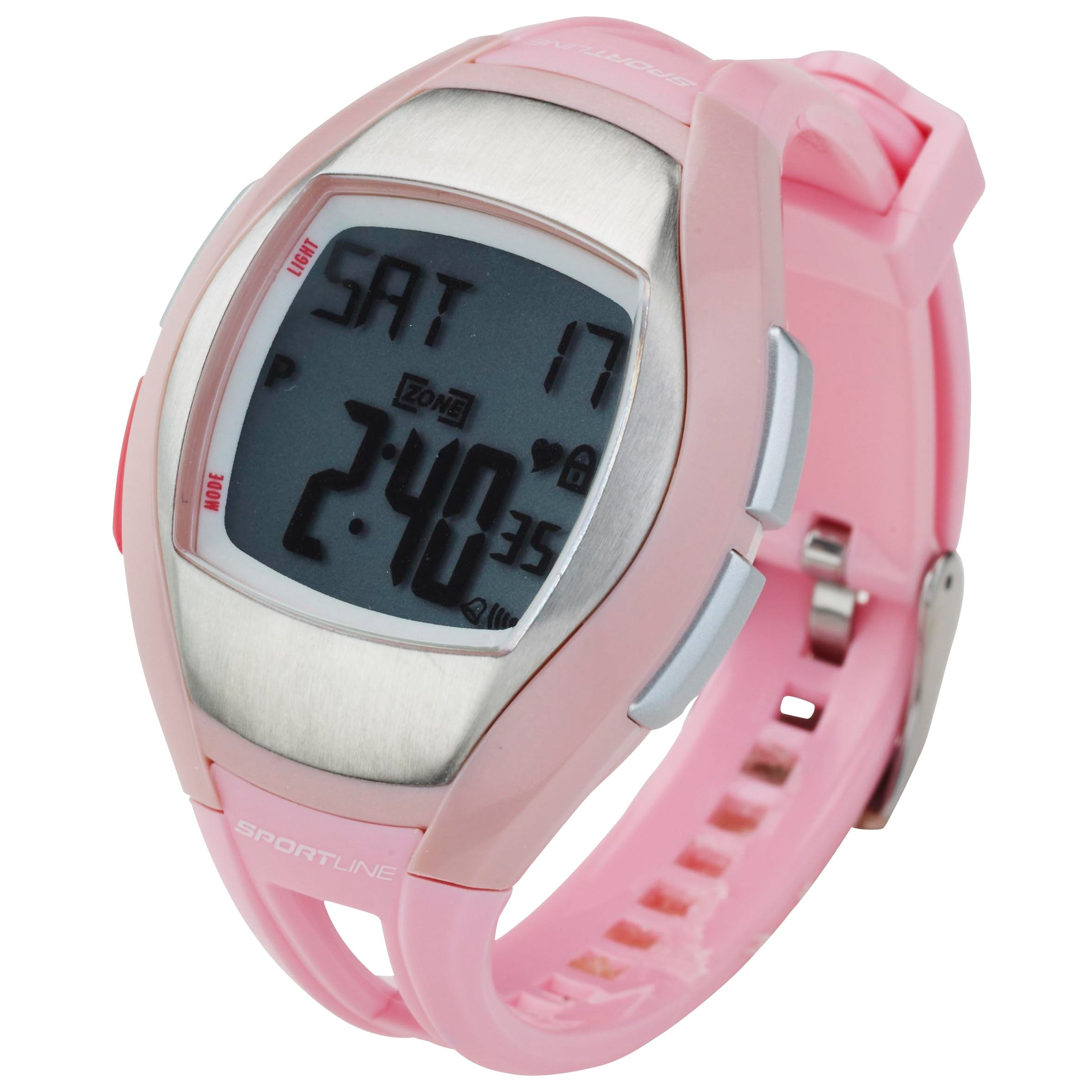 Sportline Solo 925 Heart Rate Watch, Pink