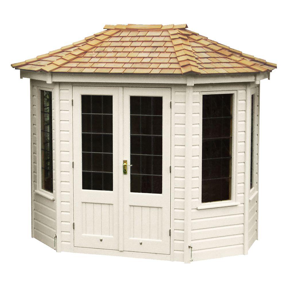 Crane Small Summerhouse, Cream