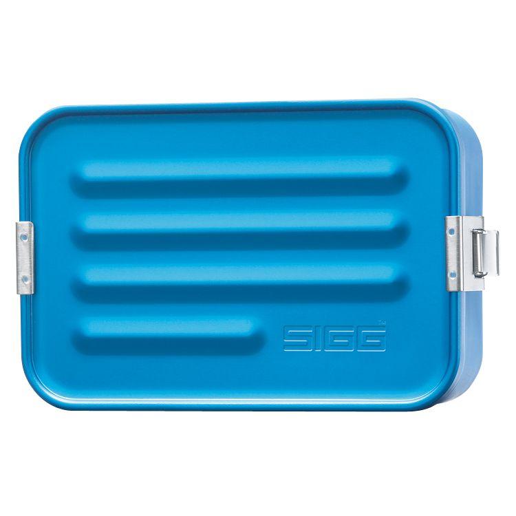 Sigg Aluminium Lunch Box, Small, Blue
