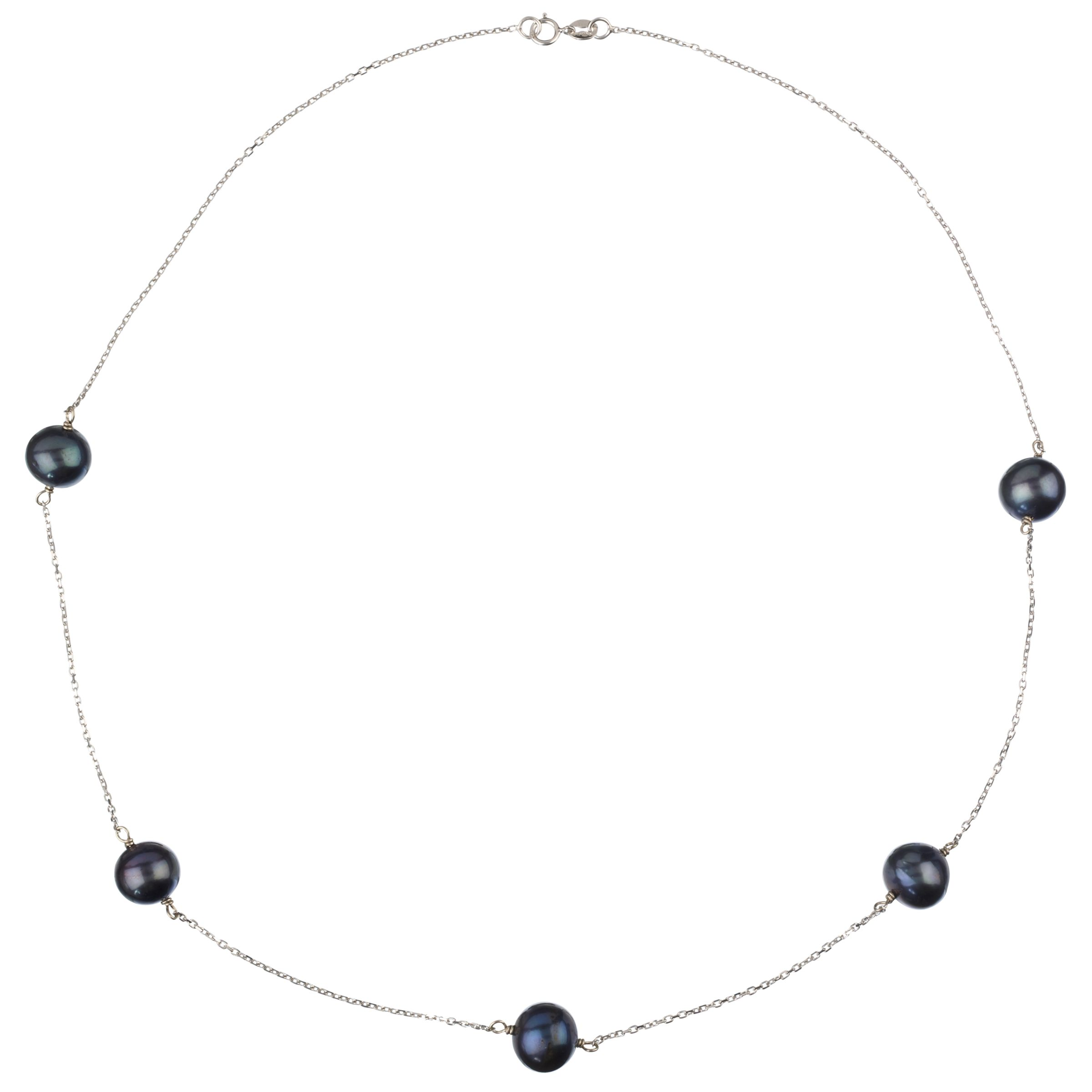 Elizabeth Freshwater Pearl Necklace, Blue
