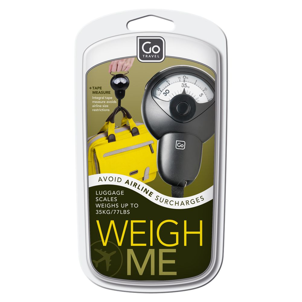Design Go Weigh Me Travel Scales