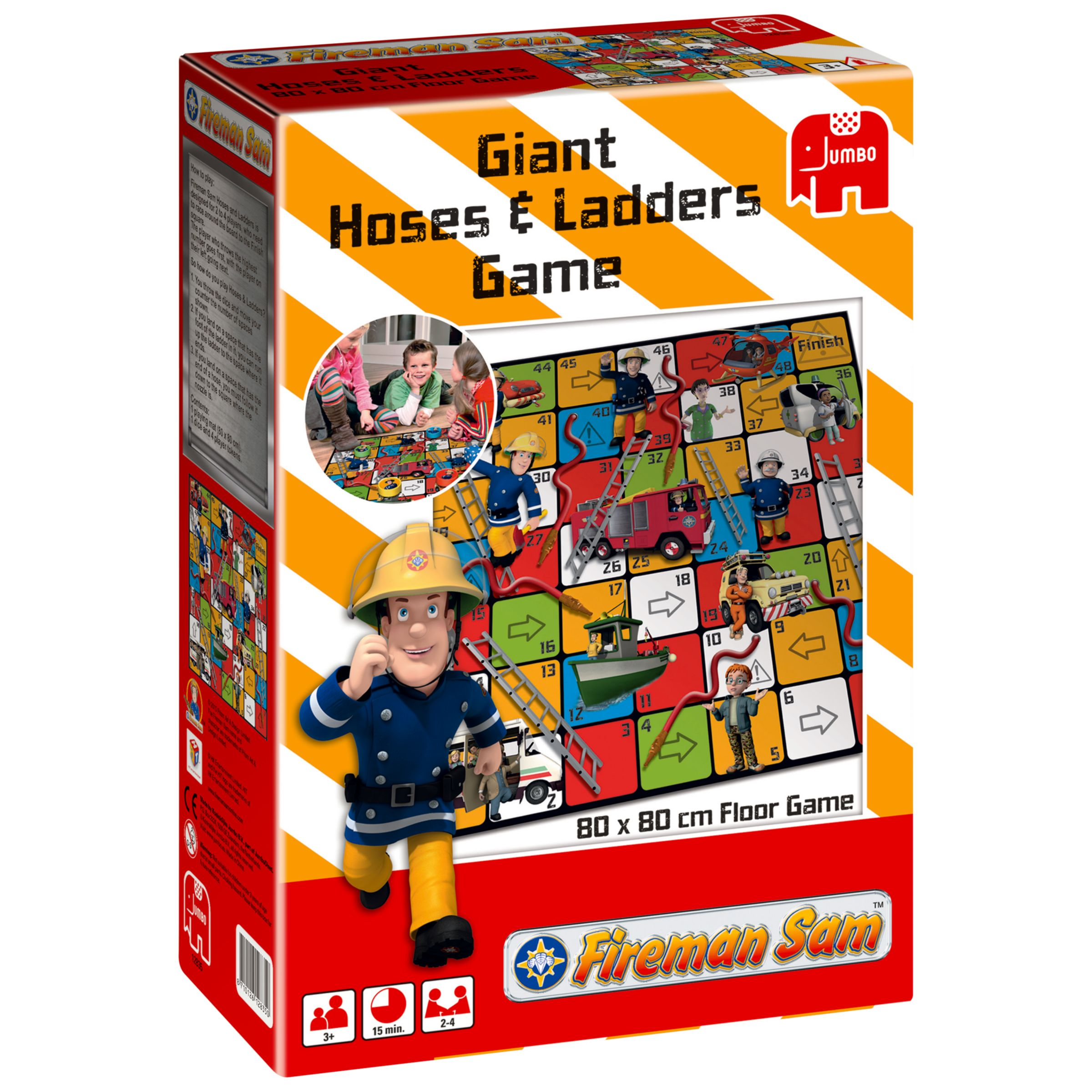 Fireman Sam Hoses and Ladders Game