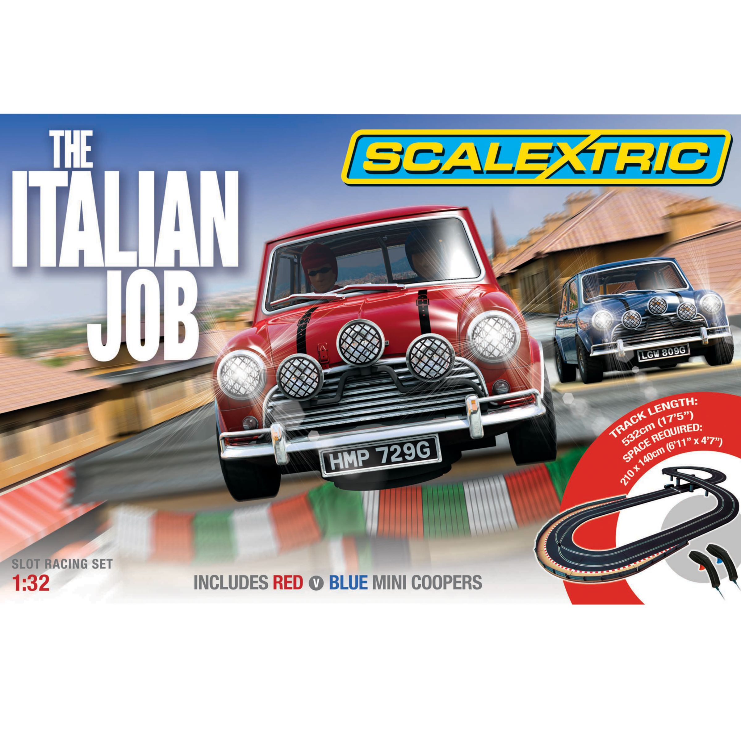 Scalextric The Italian Job
