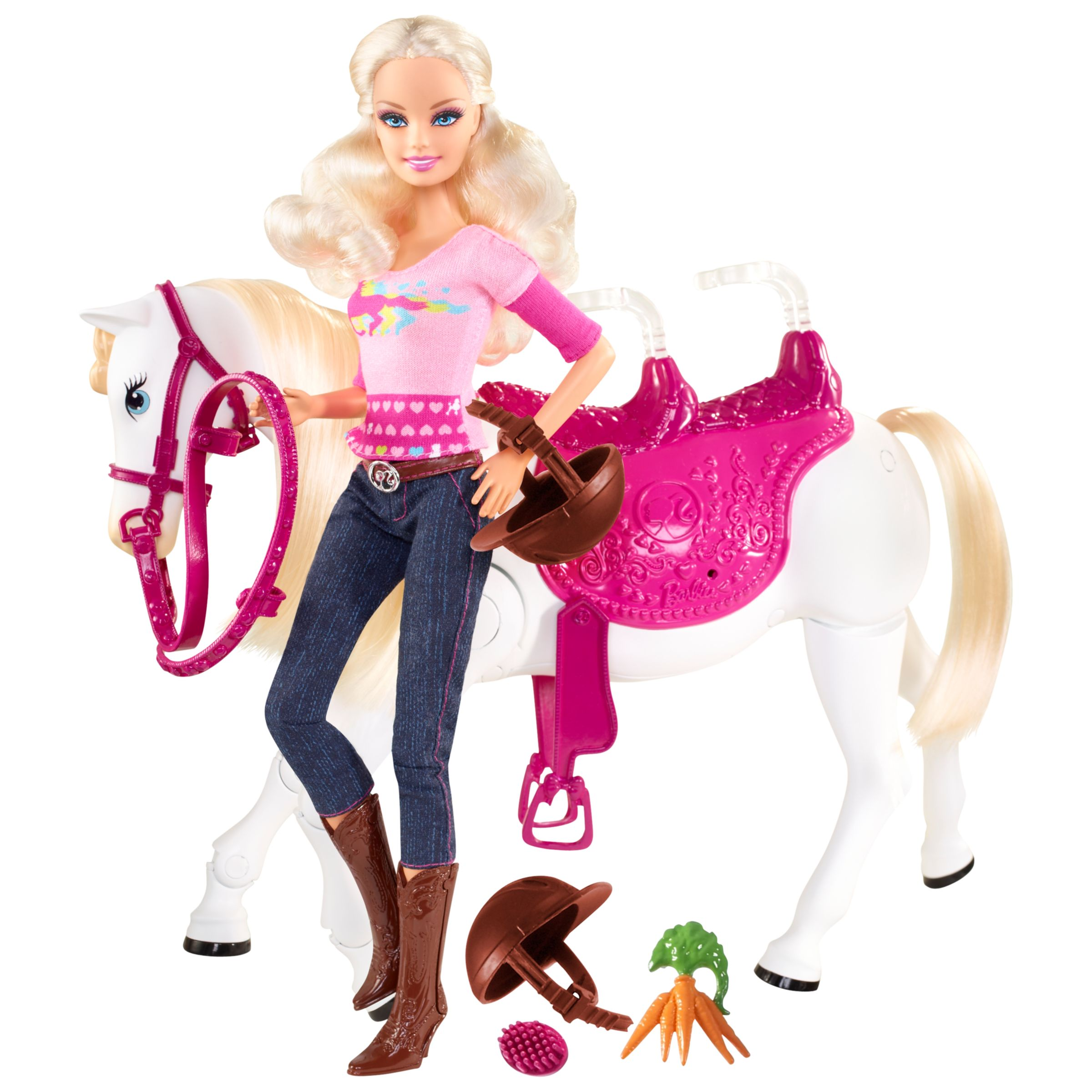 Barbie Two To Trot Horse and Doll Set