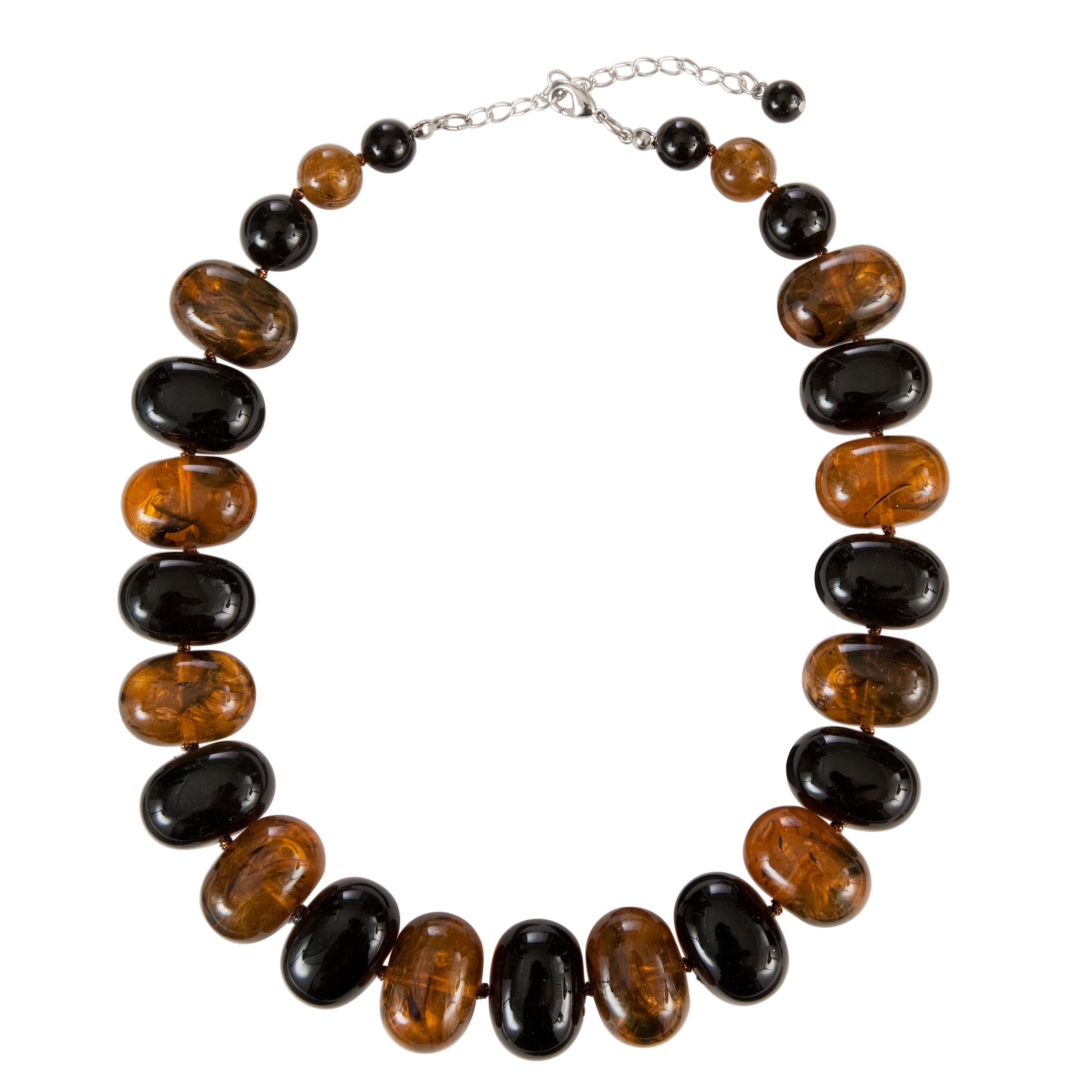 John Lewis Nordic Tortoise Potato Beaded Necklace