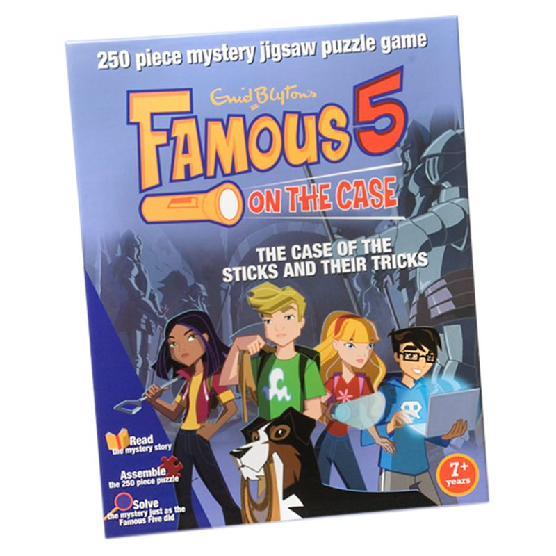 Famous Five Mystery Jigsaw Puzzle, Assorted