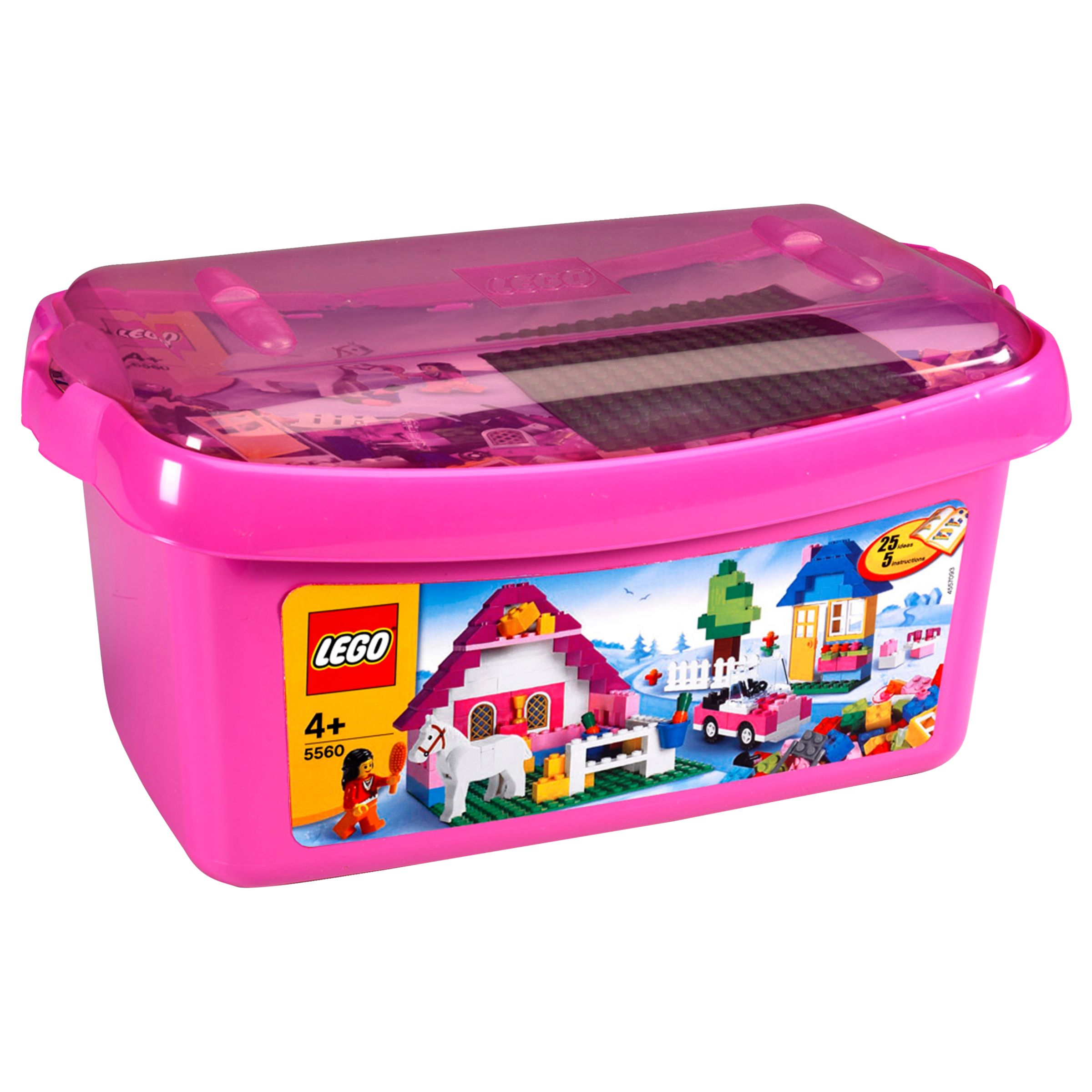 Lego Large Brick Box, Pink